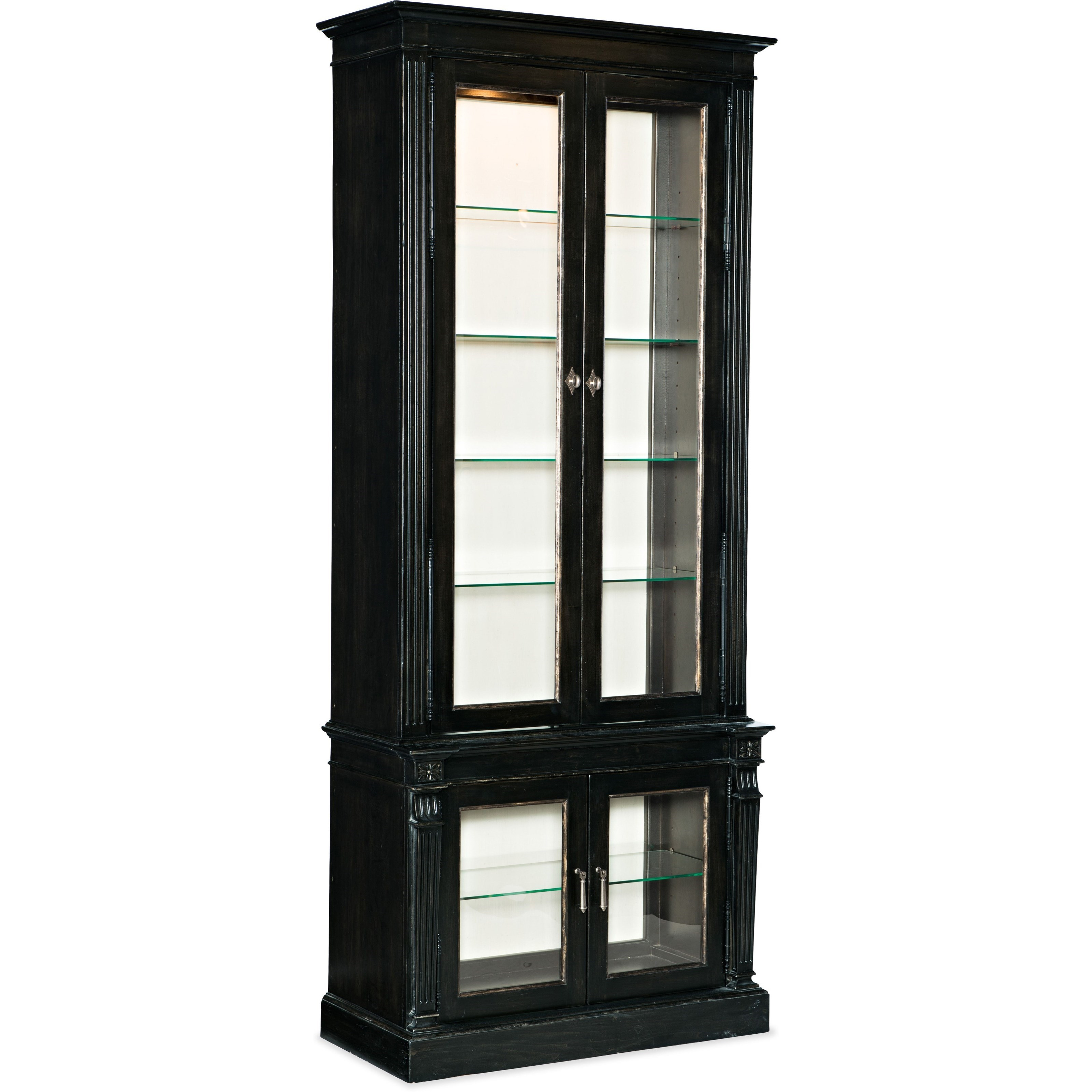 Sanctuary Display Cabinet Noir by Hooker Furniture at Alison Craig Home Furnishings