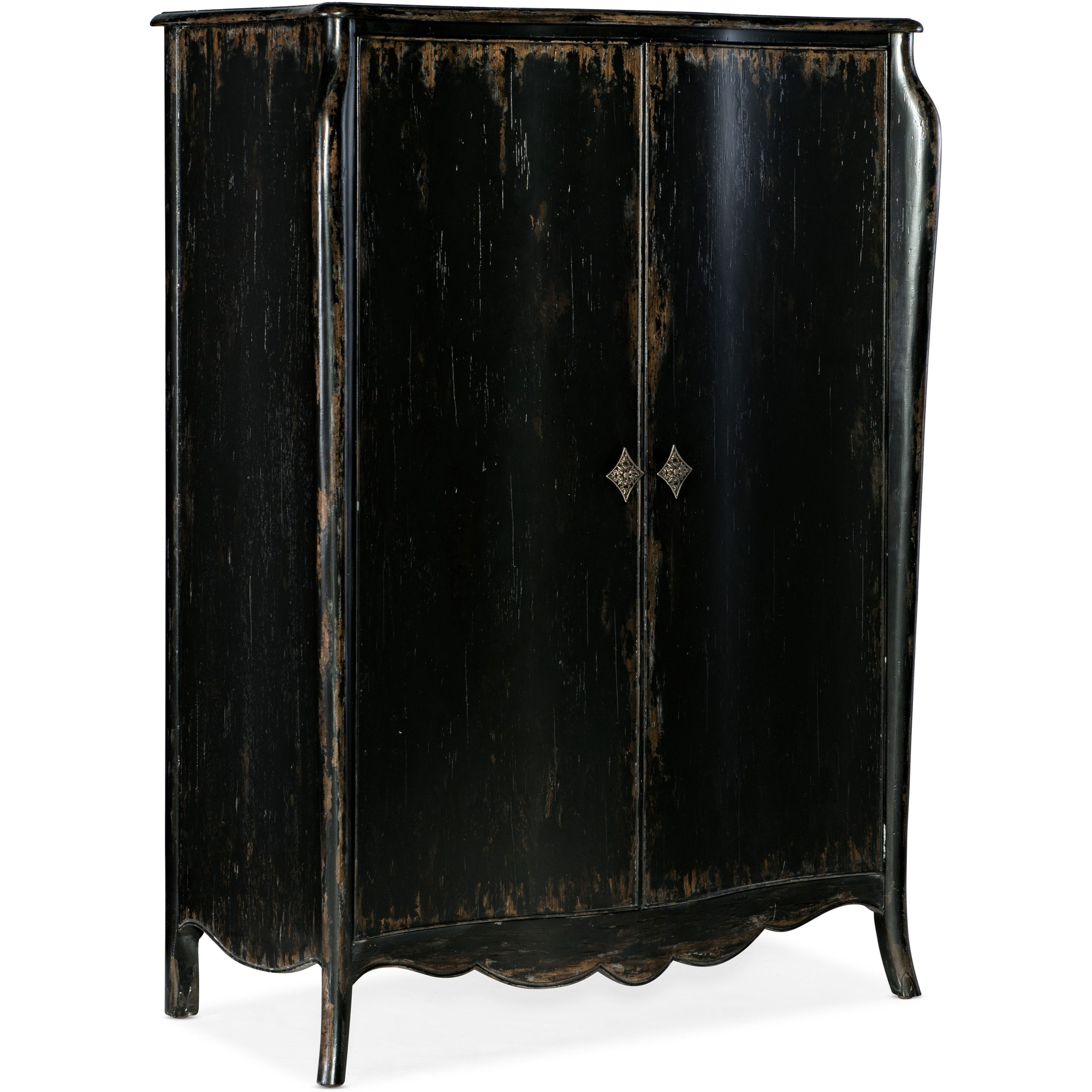 Sanctuary Armoire En Noir by Hooker Furniture at Mueller Furniture