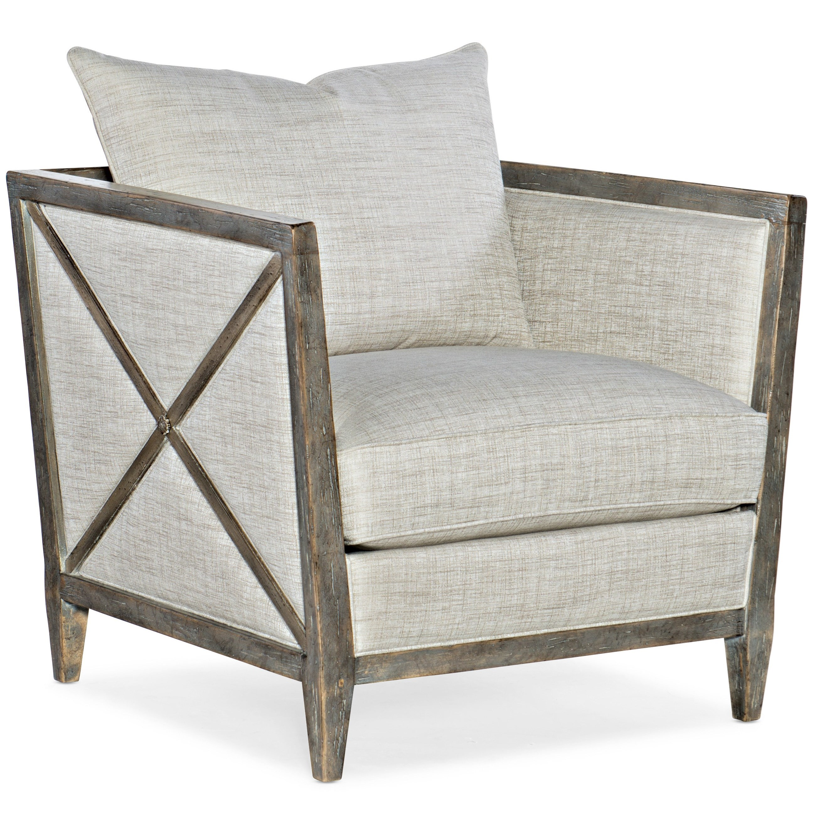 Sanctuary Prim Lounge Chair by Hooker Furniture at Baer's Furniture