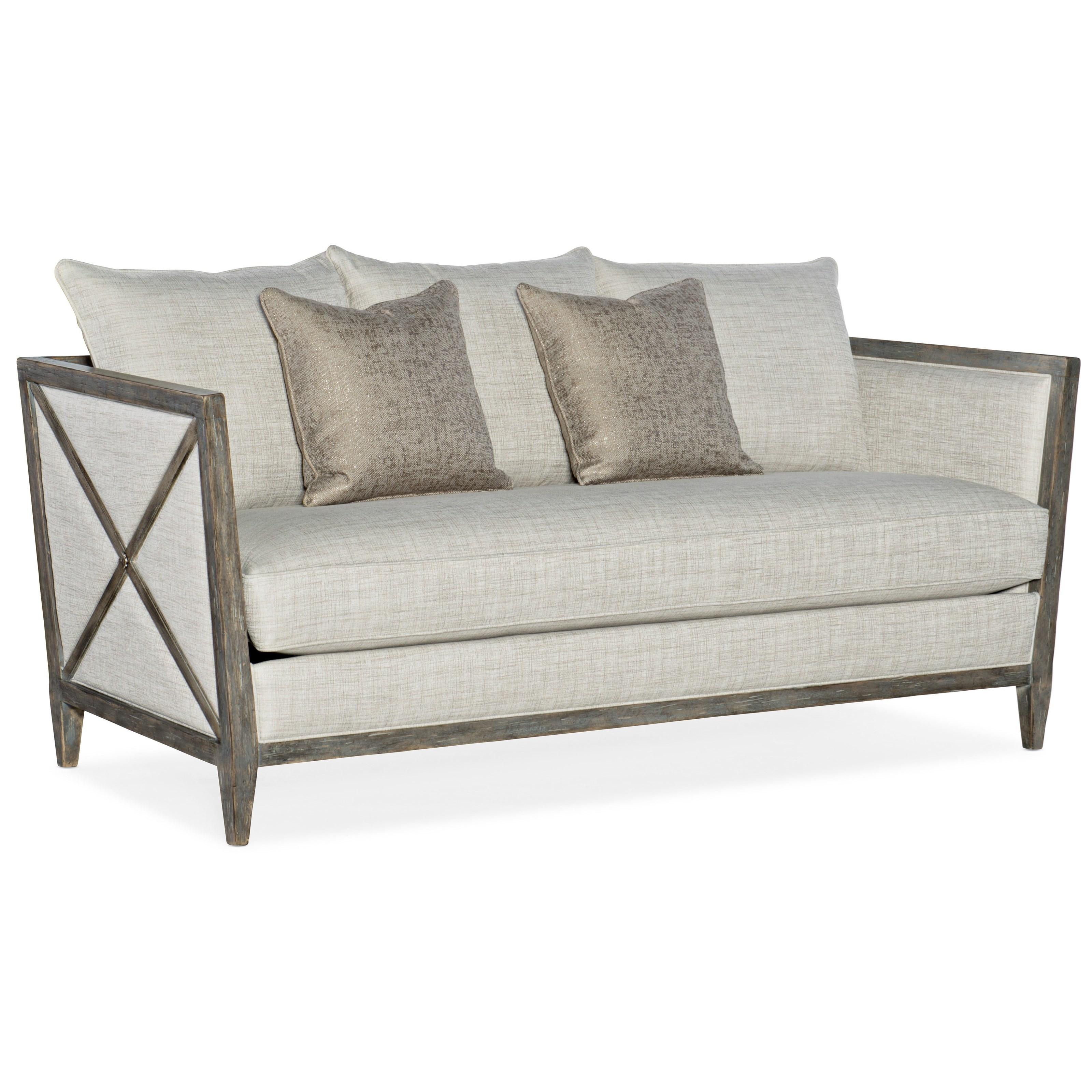 Sanctuary Proper Sofa by Hooker Furniture at Baer's Furniture