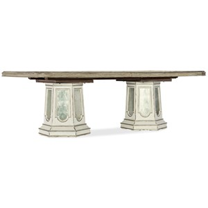 Grand Fete Rectangular Dining Table with Leaves