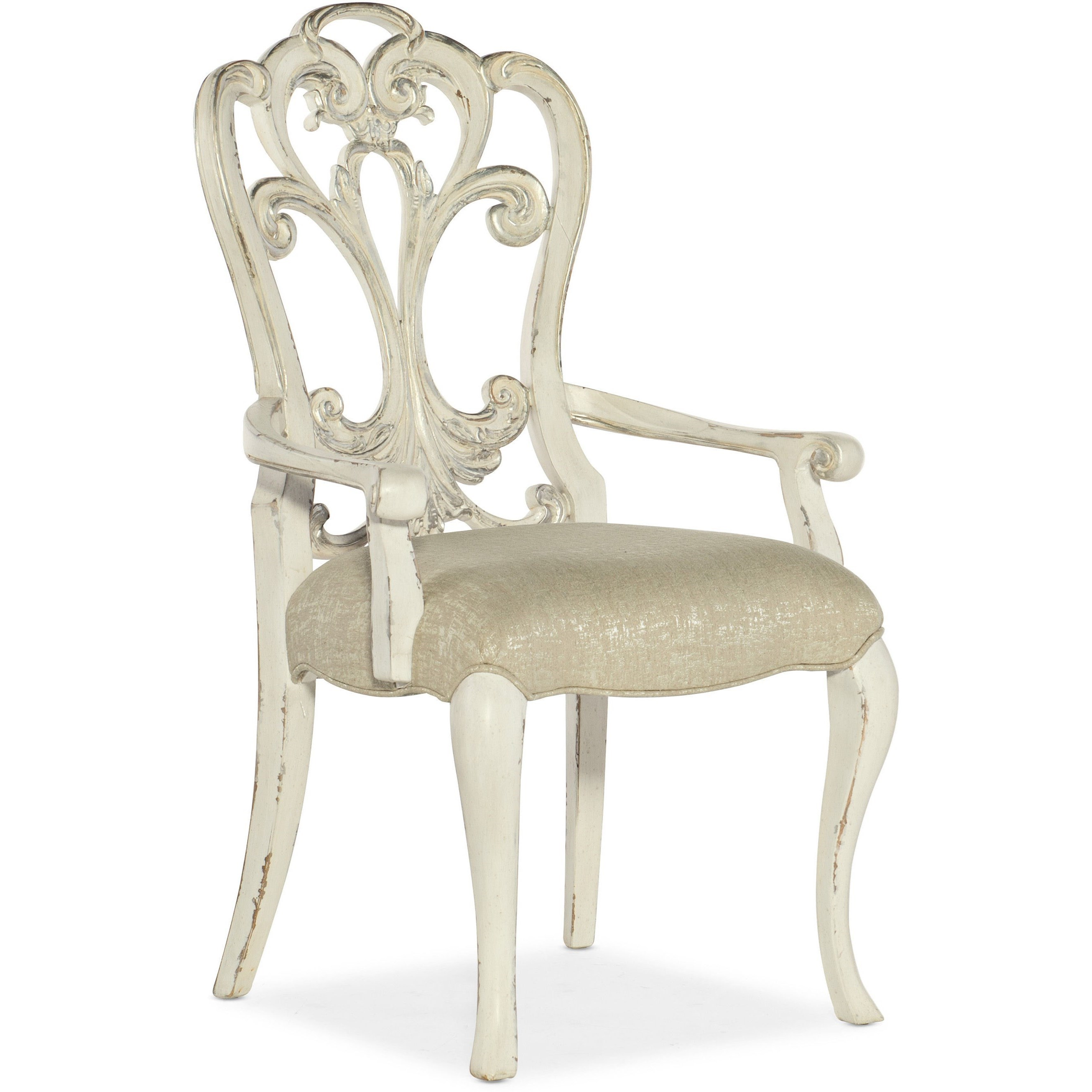 Sanctuary Celebrite Arm Chair by Hooker Furniture at Miller Waldrop Furniture and Decor