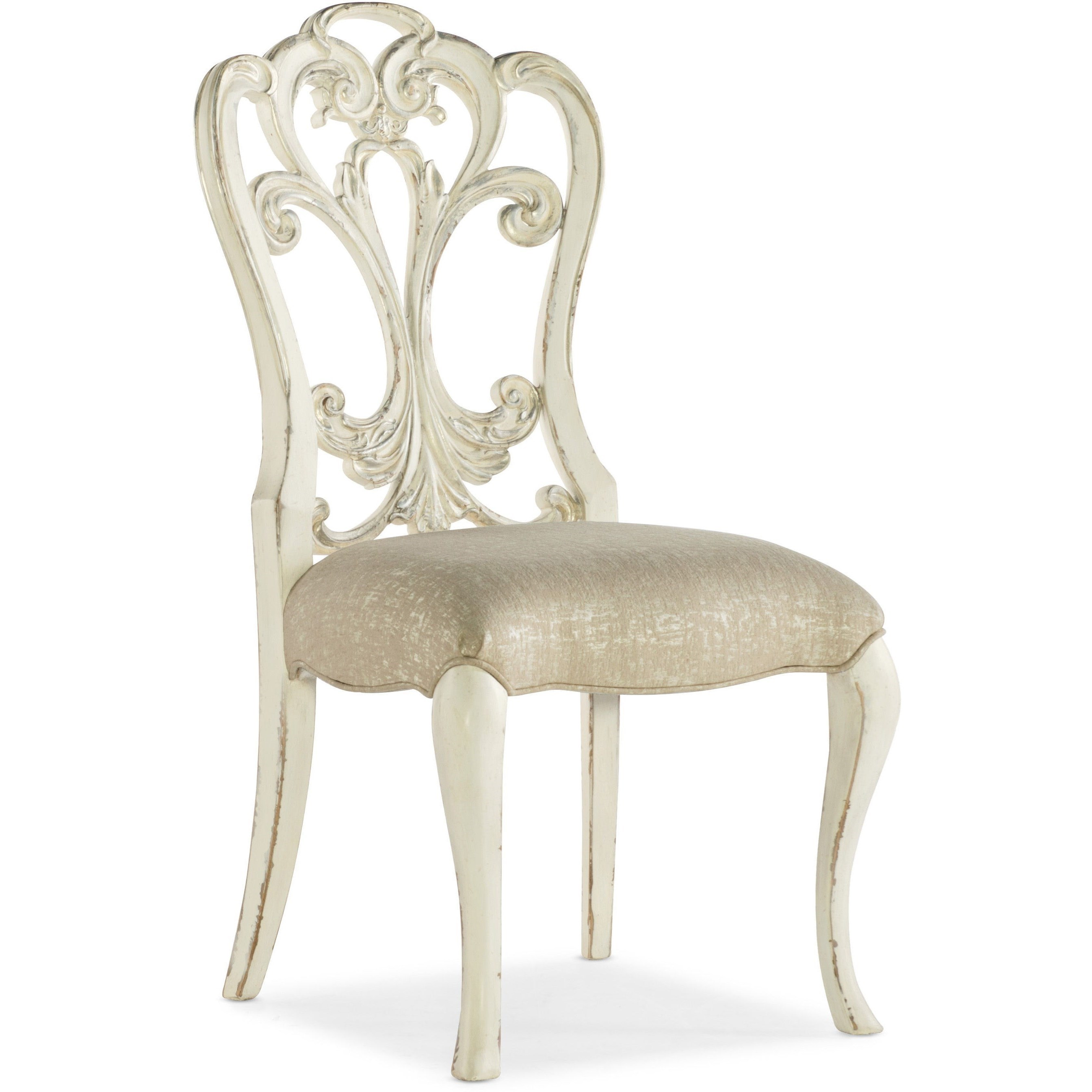 Sanctuary Celebrite Side Chair by Hooker Furniture at Stoney Creek Furniture