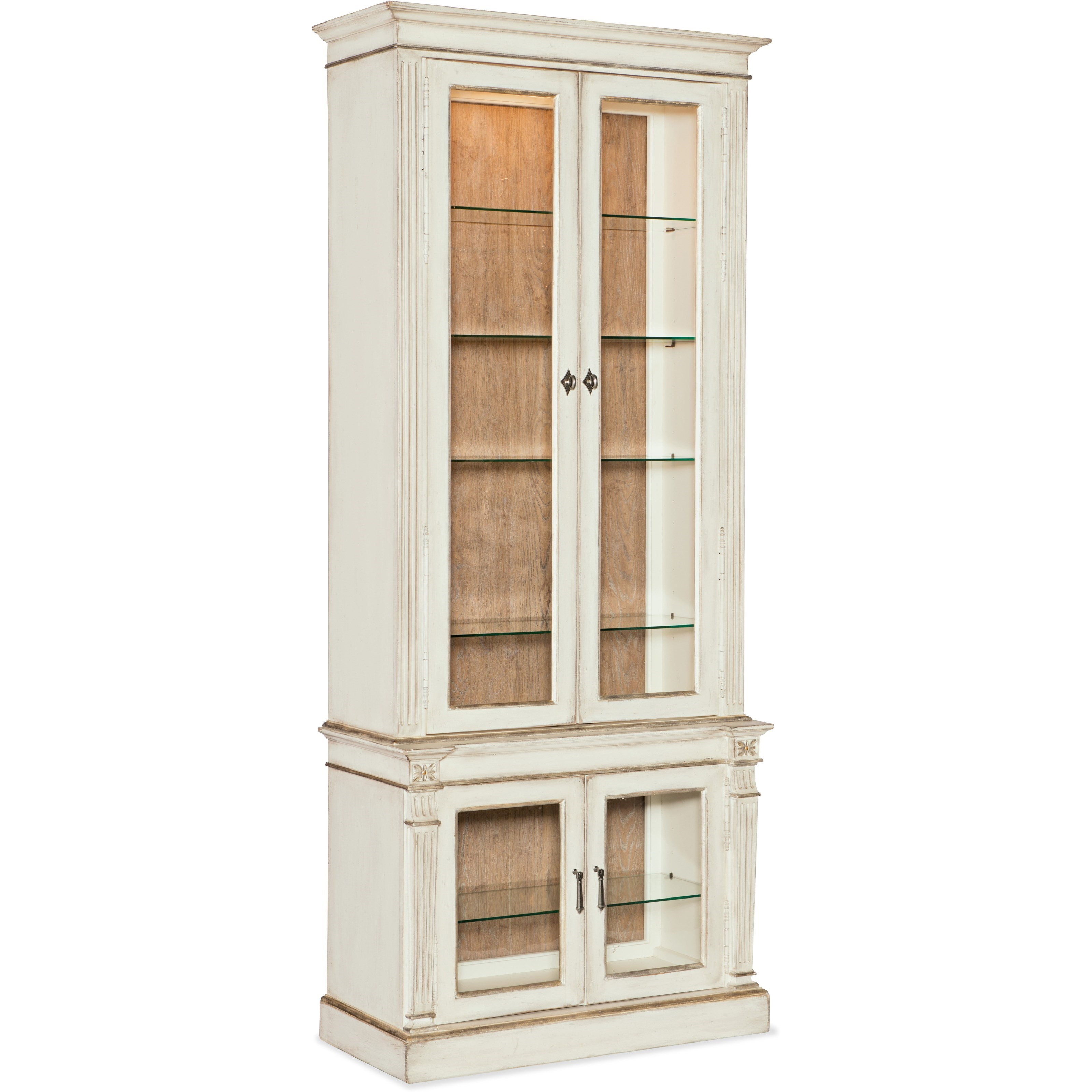 Sanctuary Display Cabinet by Hooker Furniture at Miller Waldrop Furniture and Decor