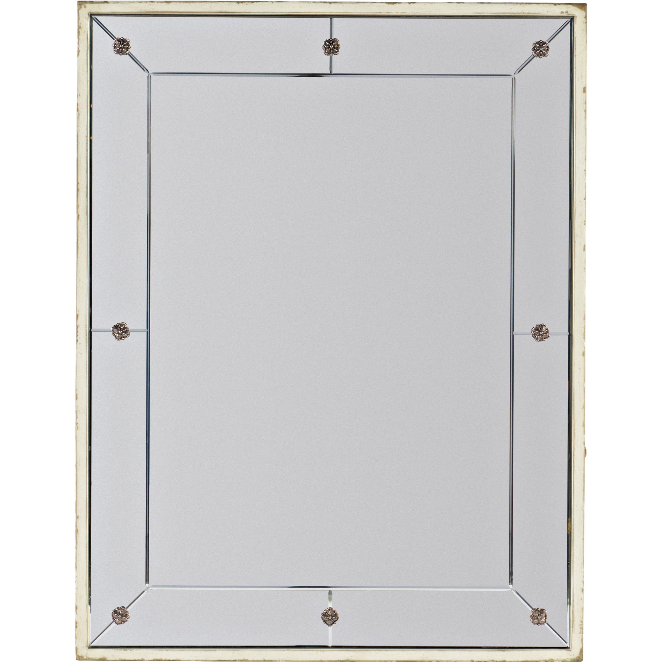 Sanctuary Mirror Blanc by Hooker Furniture at Mueller Furniture