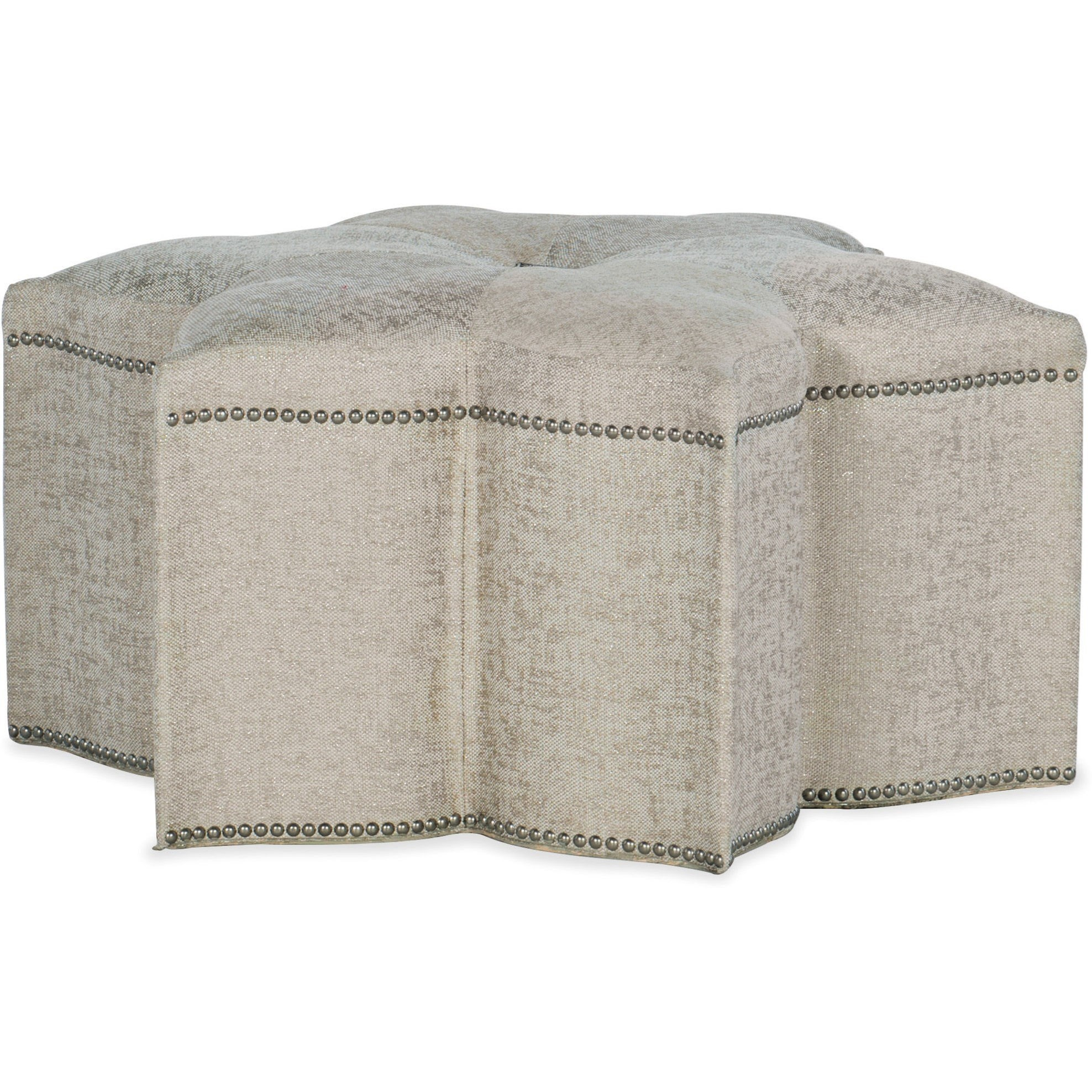 Sanctuary Star of the Show Ottoman by Hooker Furniture at Miller Waldrop Furniture and Decor