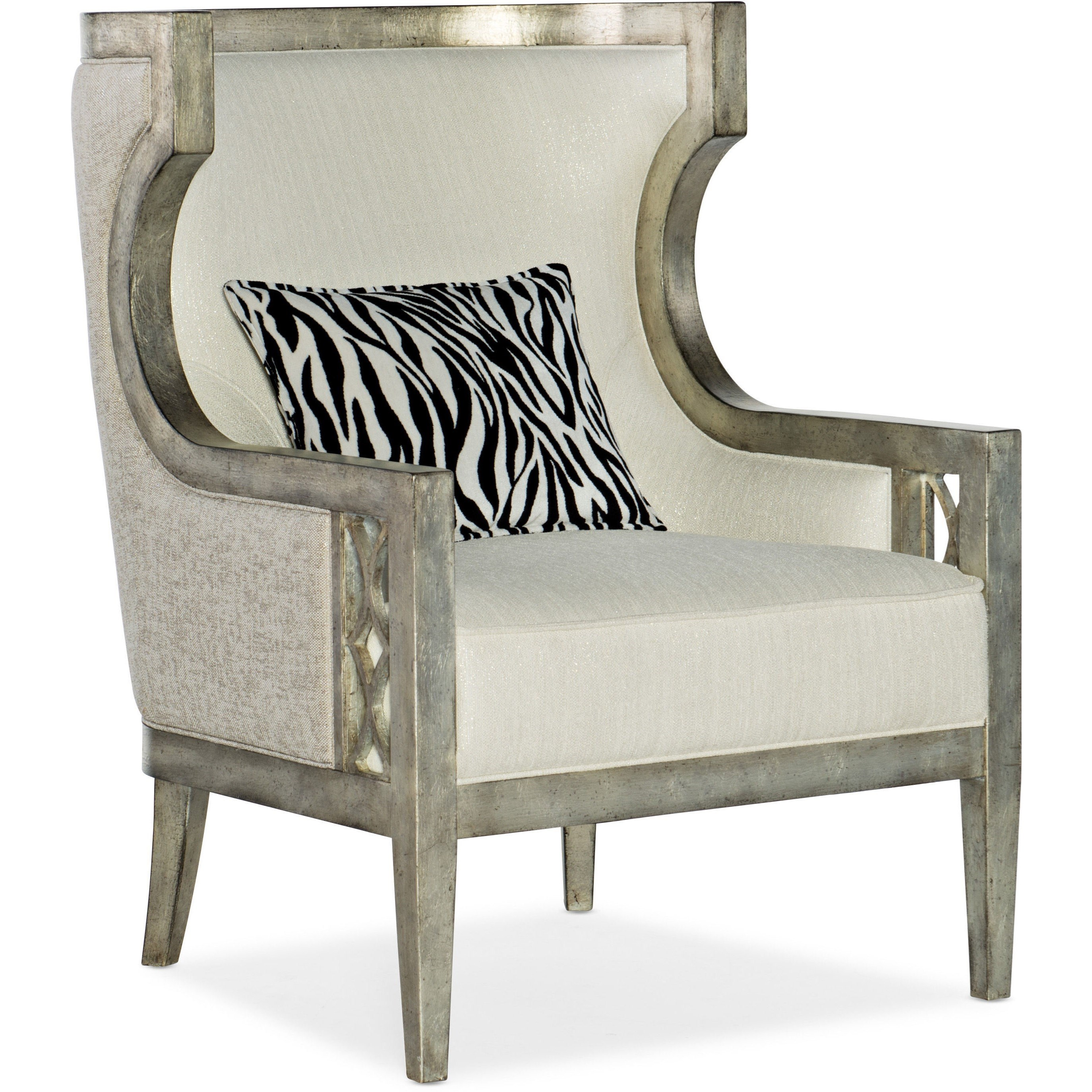 Sanctuary Debutant Wing Chair by Hooker Furniture at Baer's Furniture