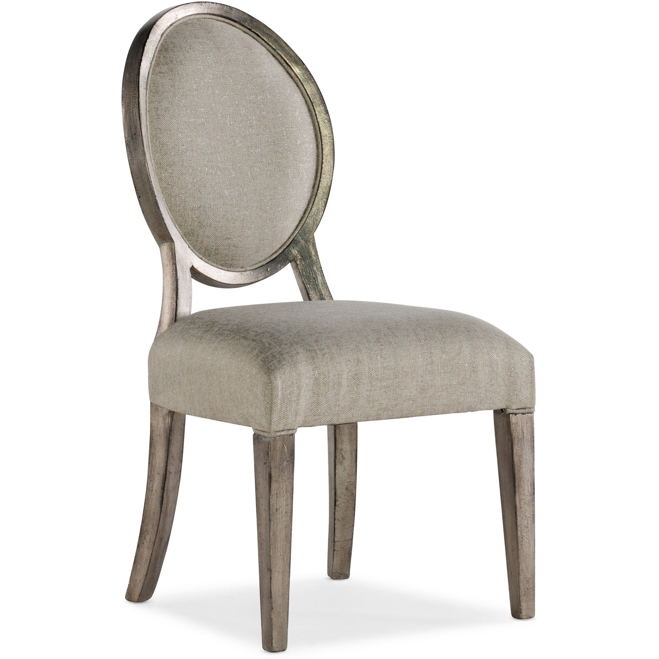 Sanctuary Romantique Oval Side Chair by Hooker Furniture at Miller Waldrop Furniture and Decor