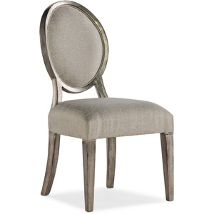 Romantique Oval Side Chair