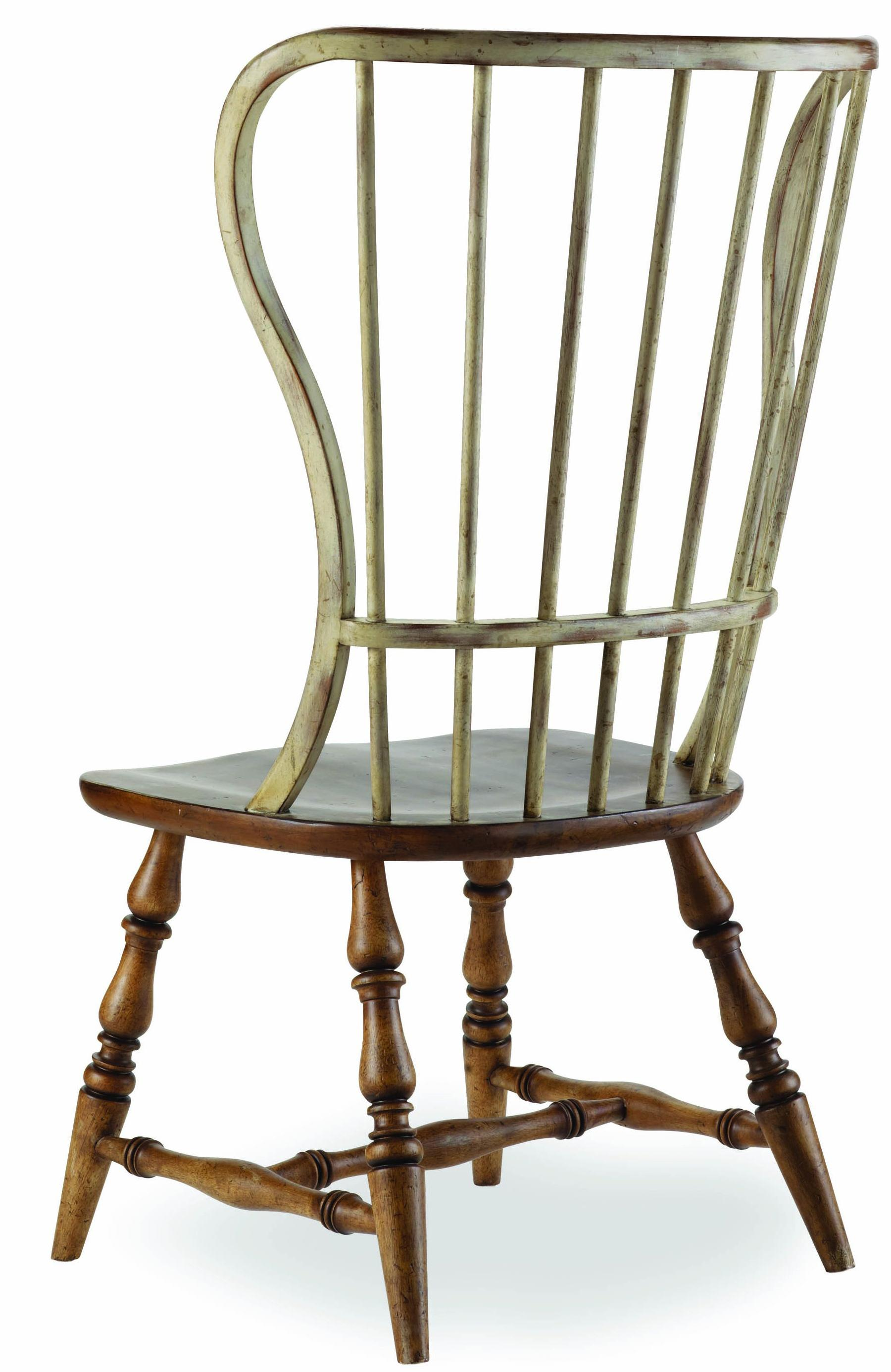 Sanctuary Spindle Back Side Chair by Hooker Furniture at Baer's Furniture