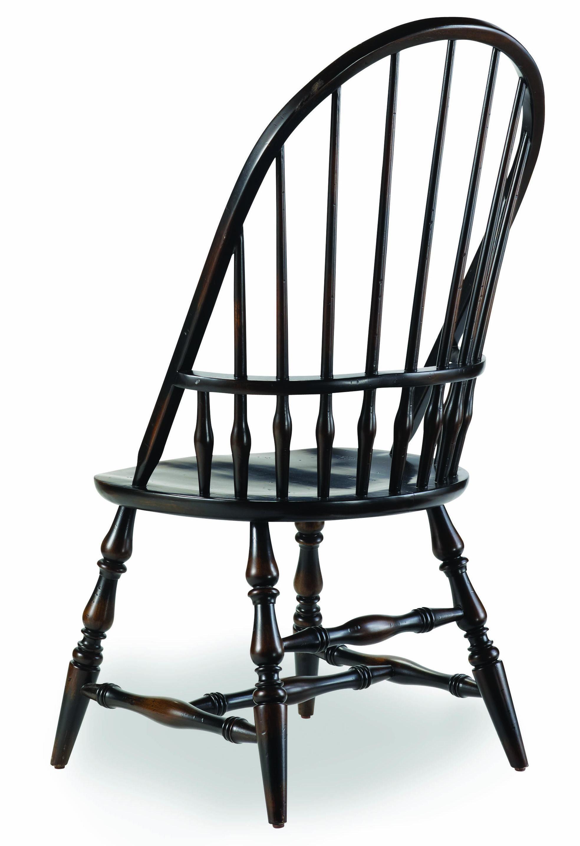 Sanctuary Windsor Side Chair by Hooker Furniture at Baer's Furniture