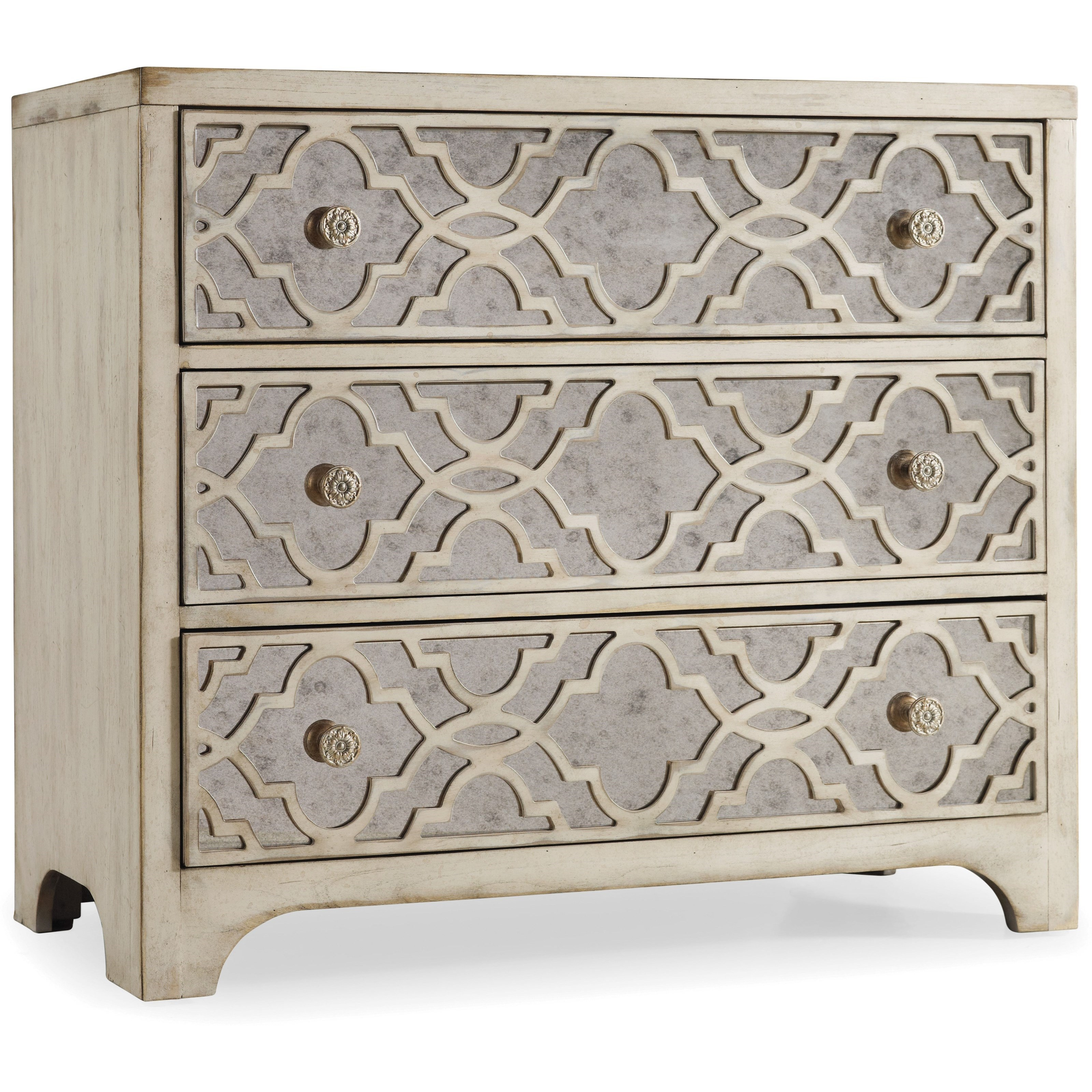 Sanctuary Fretwork Chest - Pearl Essence by Hooker Furniture at Baer's Furniture