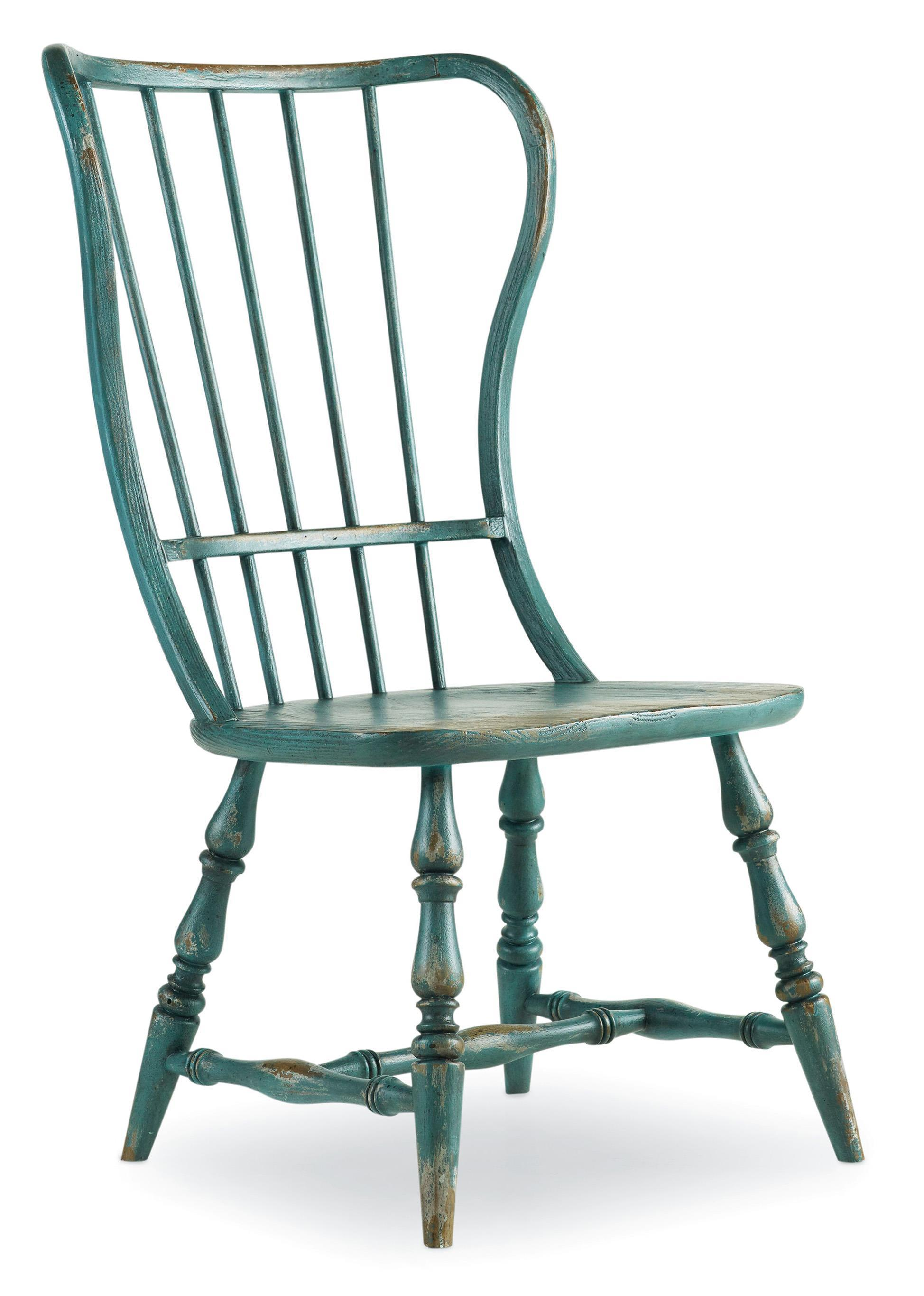 Sanctuary Spindle Side Chair by Hooker Furniture at Baer's Furniture