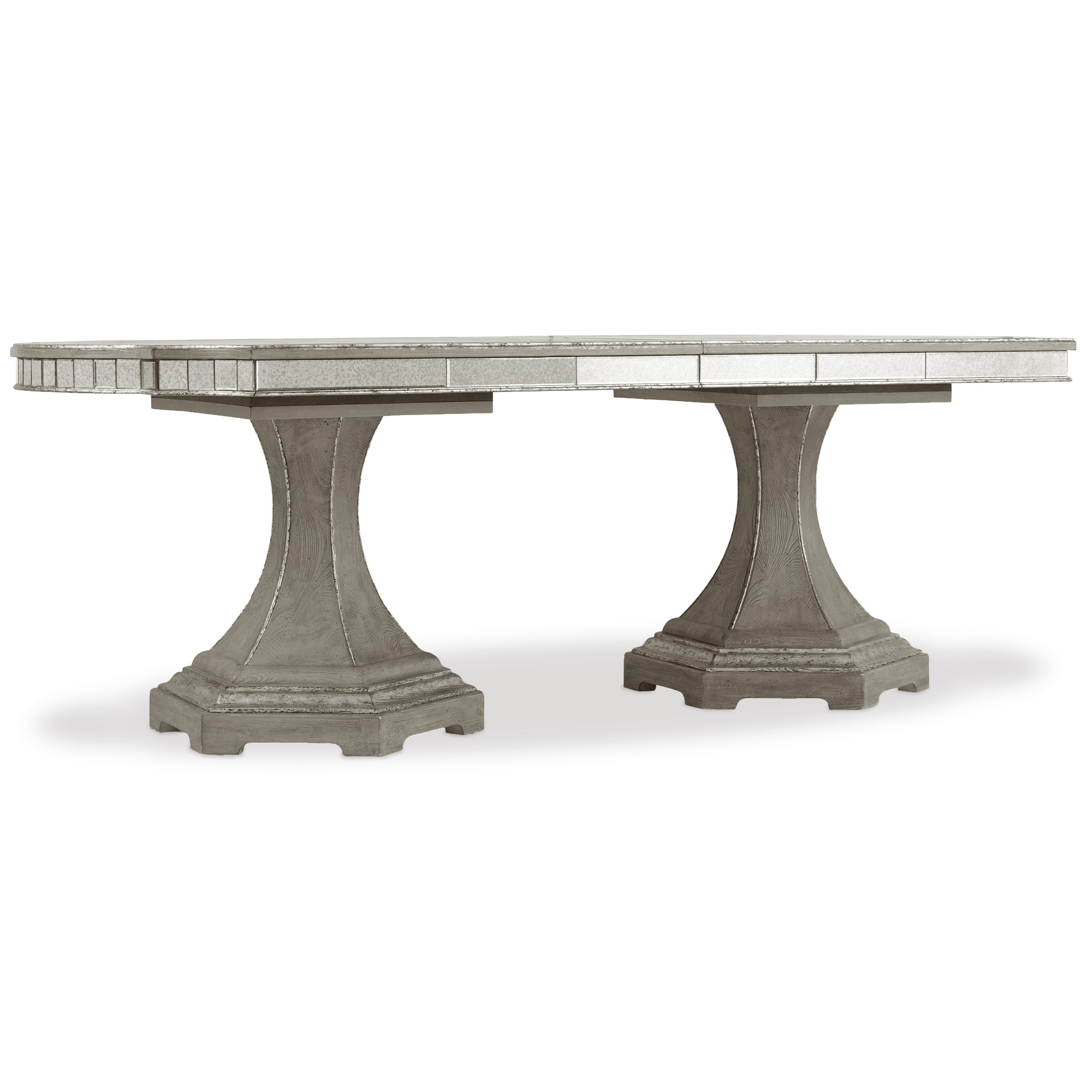 Sanctuary Rectangle Dining Table w/2-20in leaves by Hooker Furniture at Baer's Furniture