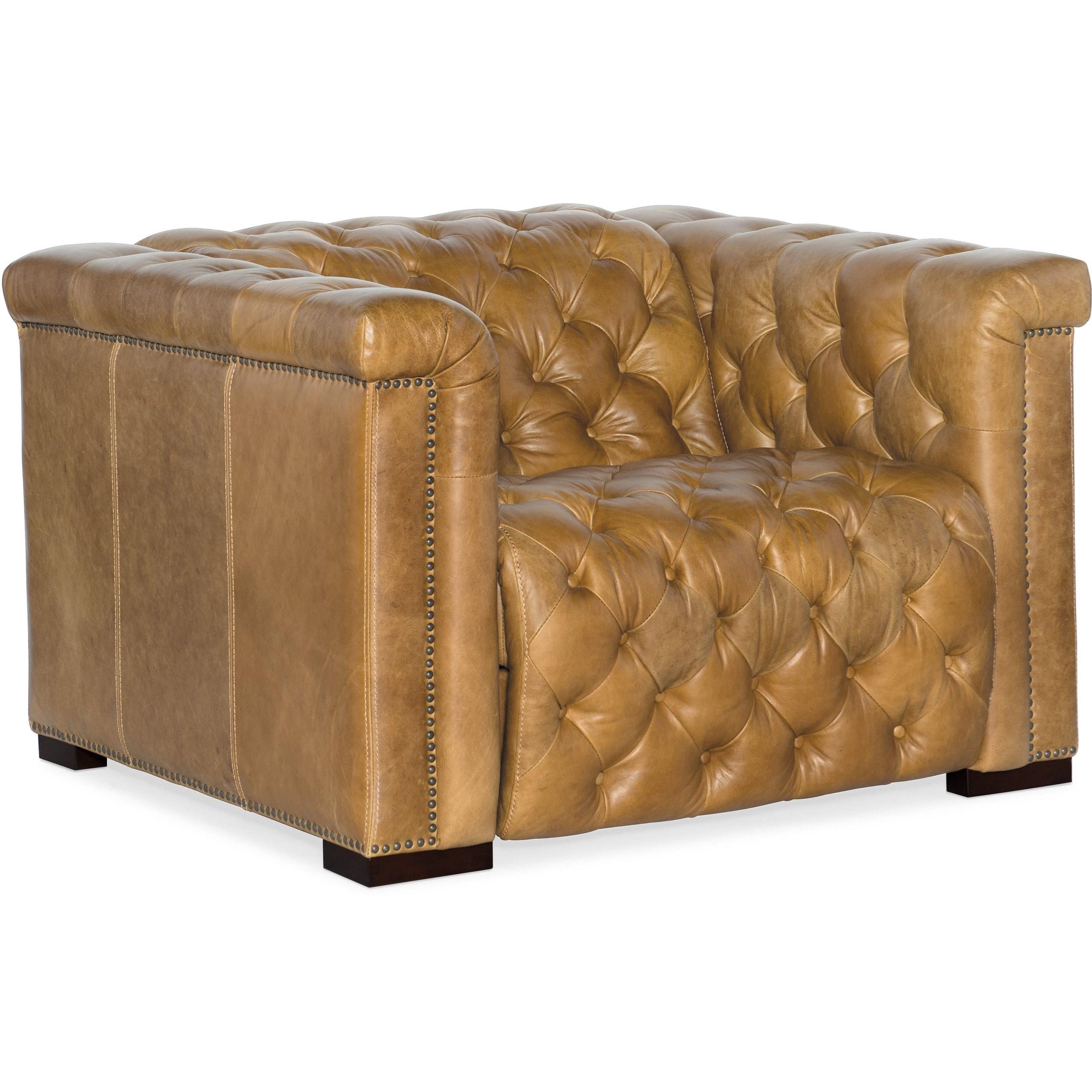 Savion Grandier Power Leather Recliner by Hooker Furniture at Baer's Furniture