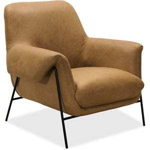 Metal Frame Club Chair