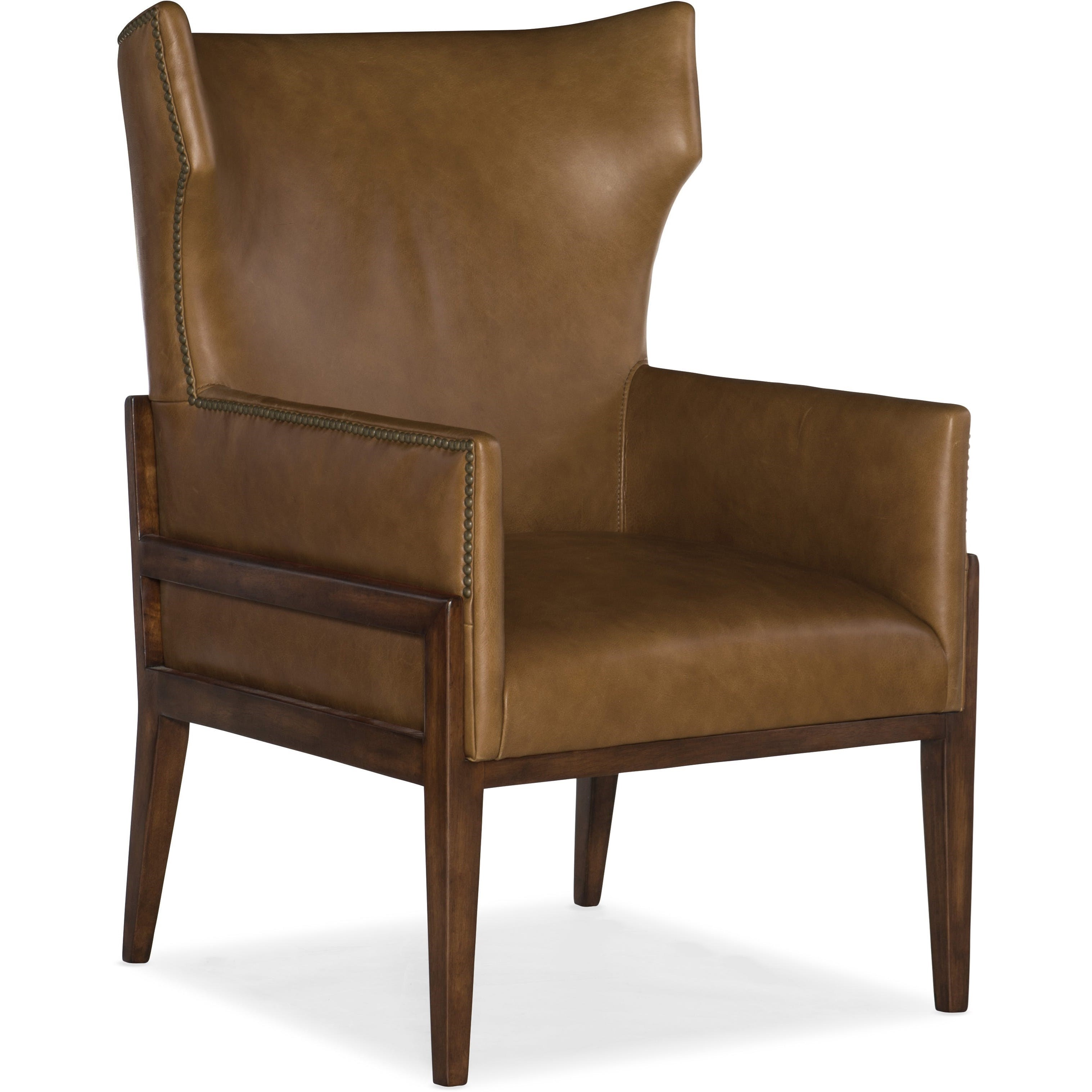 Club Chairs Burrell Leather Accent Chair at Williams & Kay