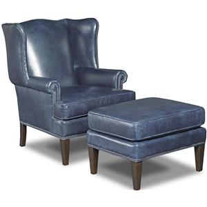 Wing Chair and Ottoman