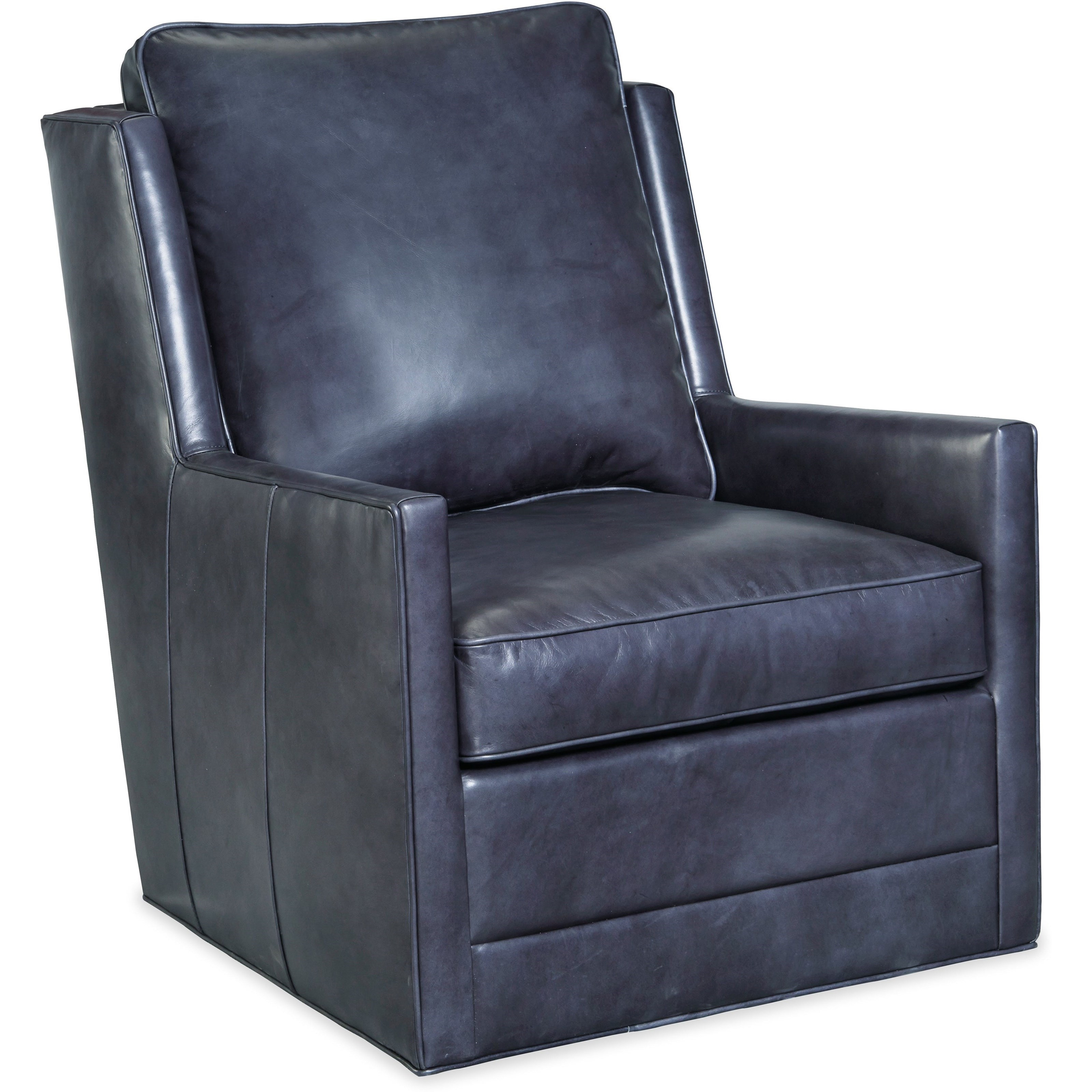 Club Chairs Keever Swivel Chair by Hooker Furniture at Stoney Creek Furniture