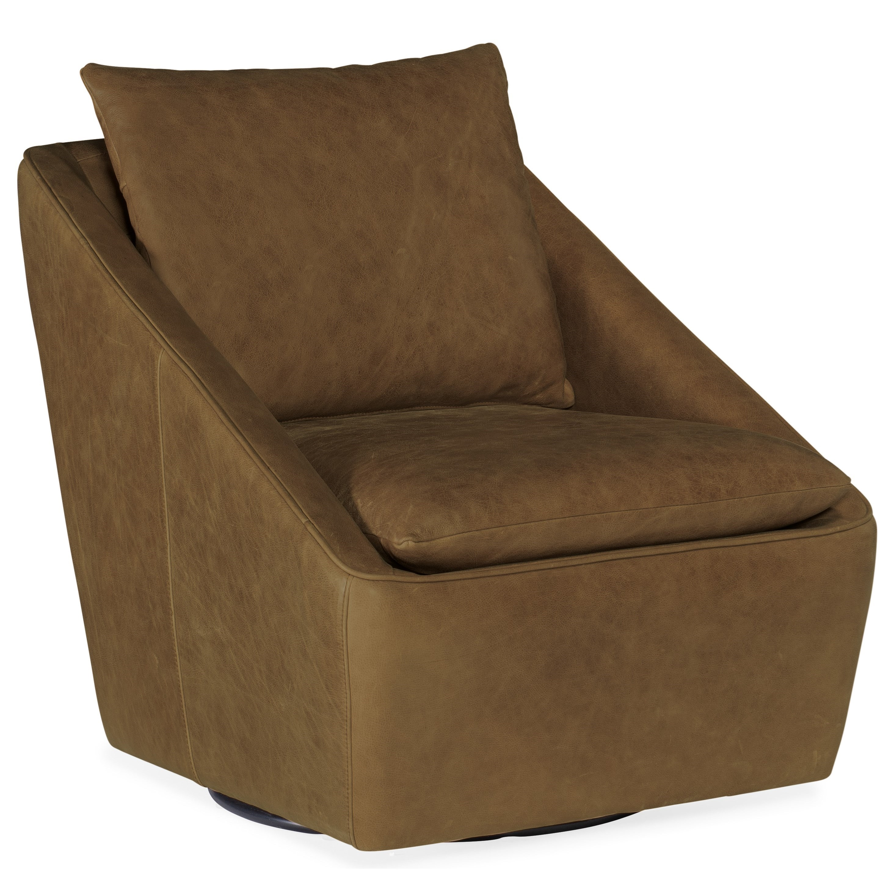 Club Chairs Coeval Swivel Club Chair by Hooker Furniture at Zak's Home