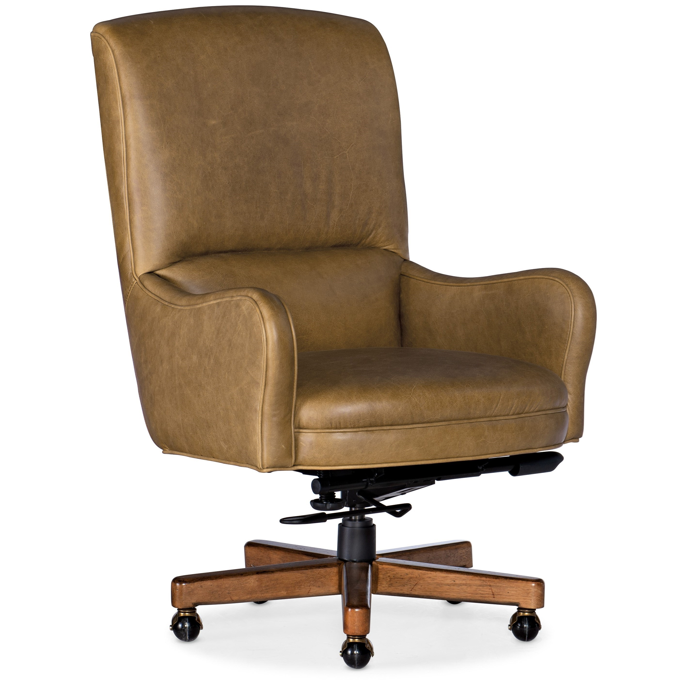 Executive Seating Dayton Executive Swivel Tilt Chair by Hooker Furniture at Miller Waldrop Furniture and Decor