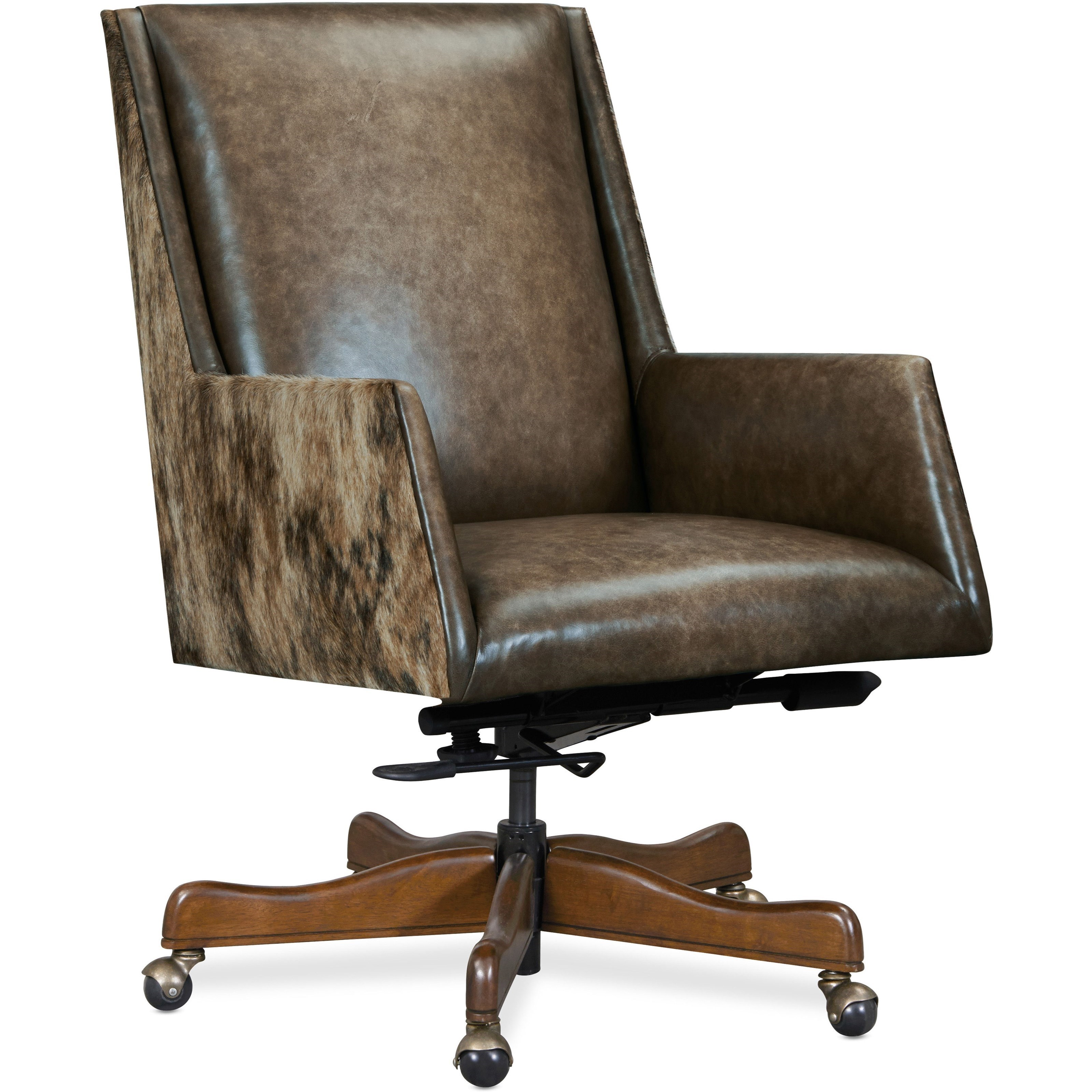 Executive Seating Rives Executive Swivel Tilt Chair by Hooker Furniture at Miller Waldrop Furniture and Decor