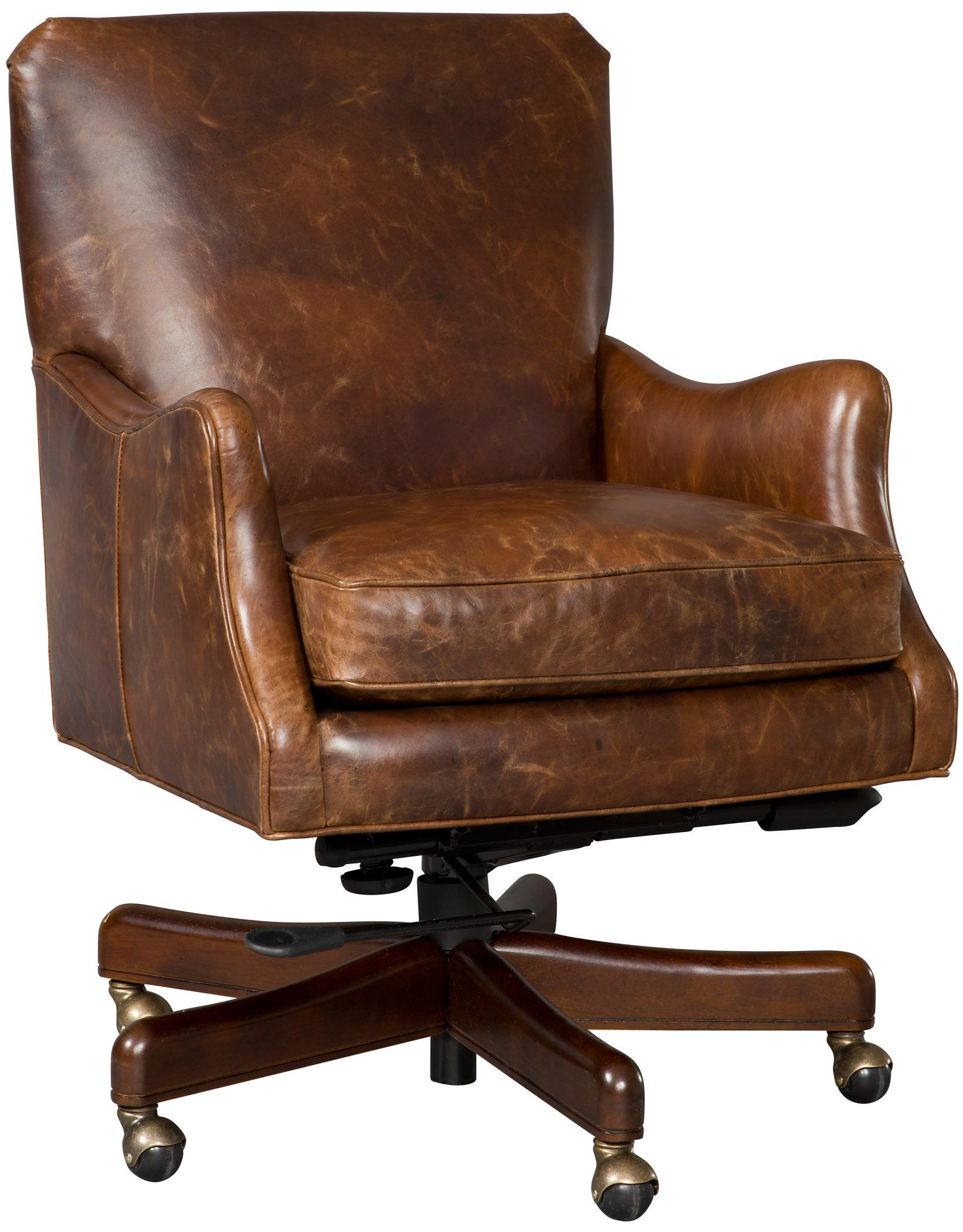 Executive Seating Executive Tilt Swivel Chair by Hooker Furniture at Belfort Furniture
