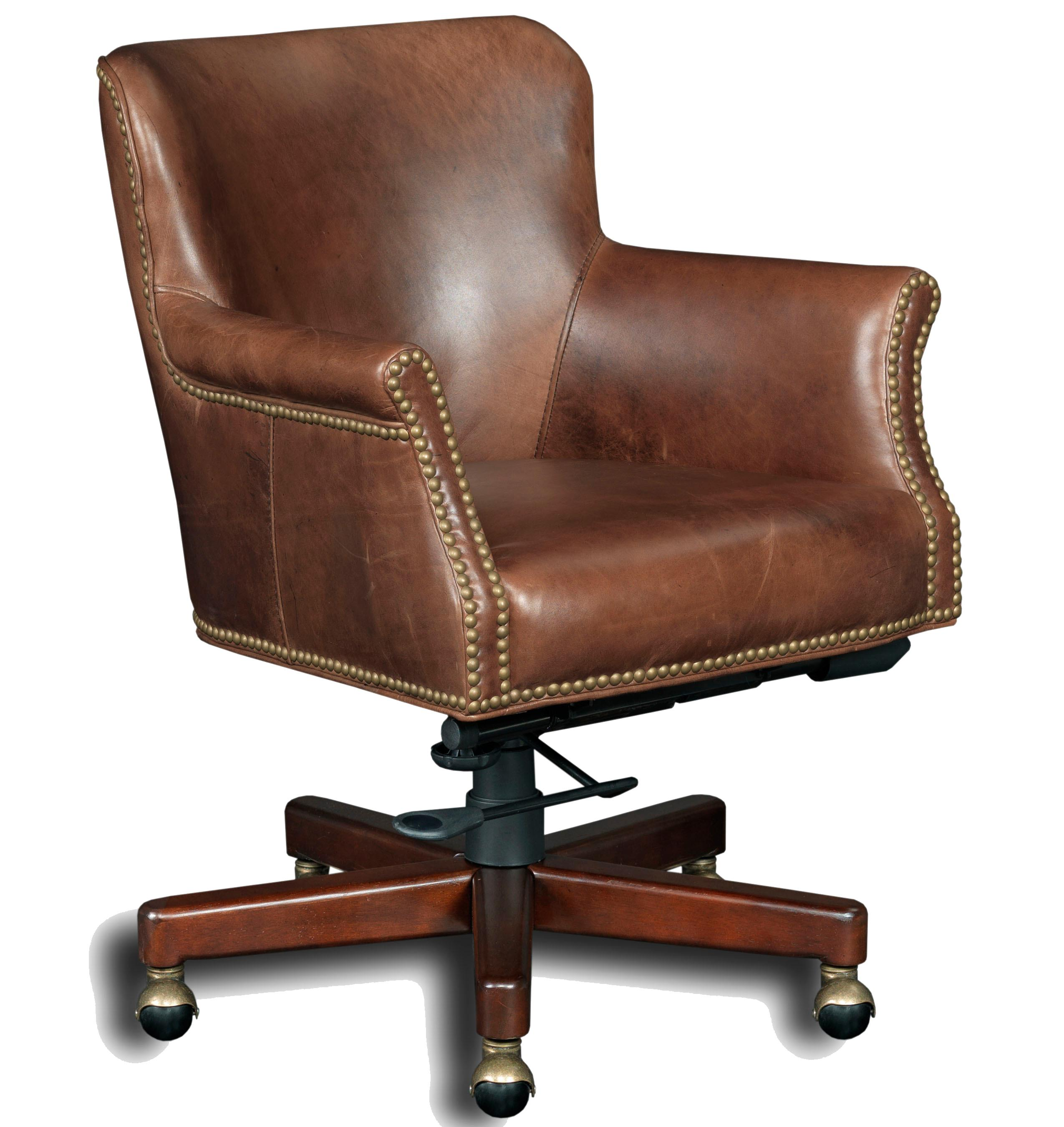 Executive Seating Executive Tilt Swivel Chair by Hooker Furniture at Alison Craig Home Furnishings