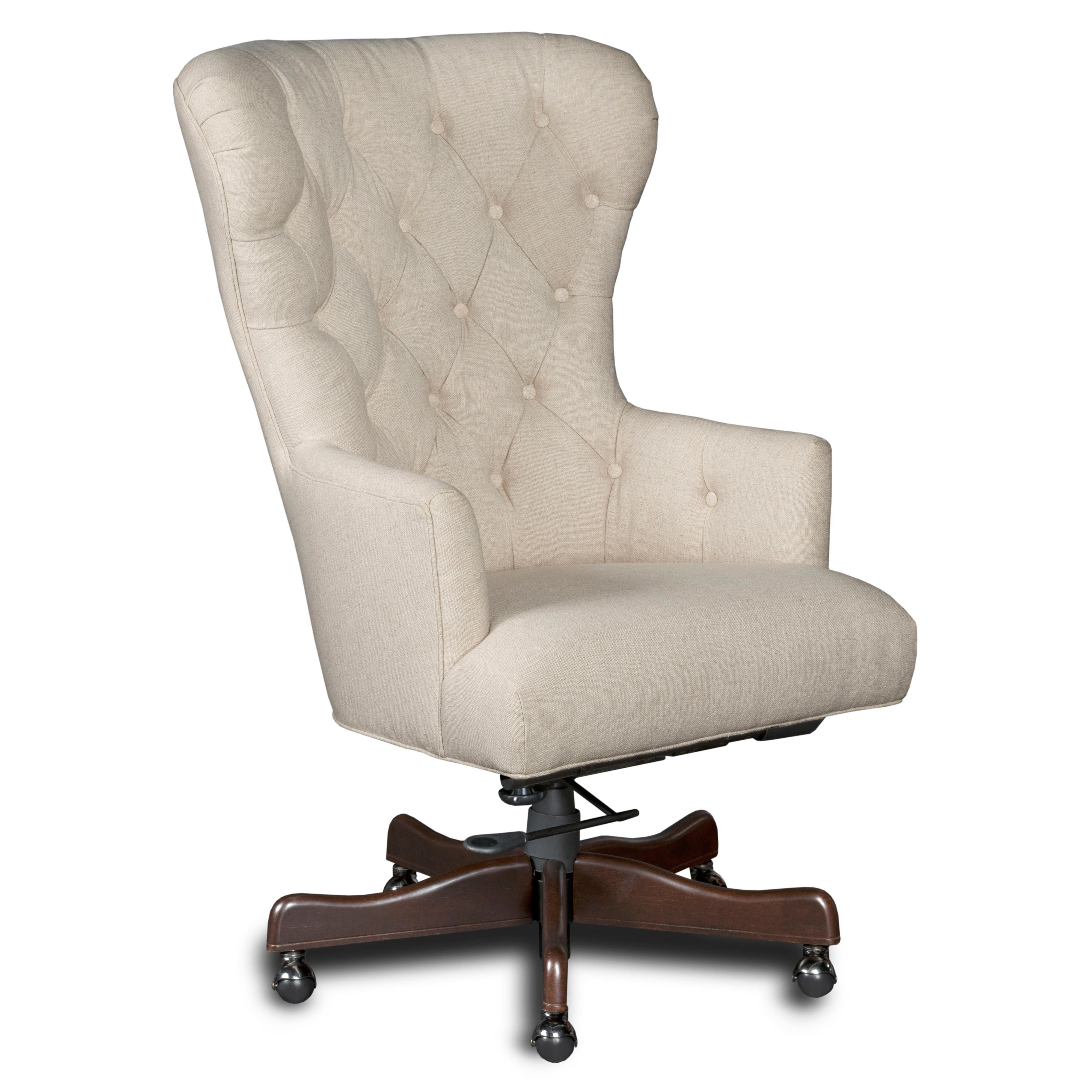 Executive Seating Larkin Oat Home Office Chair by Hooker Furniture at Baer's Furniture