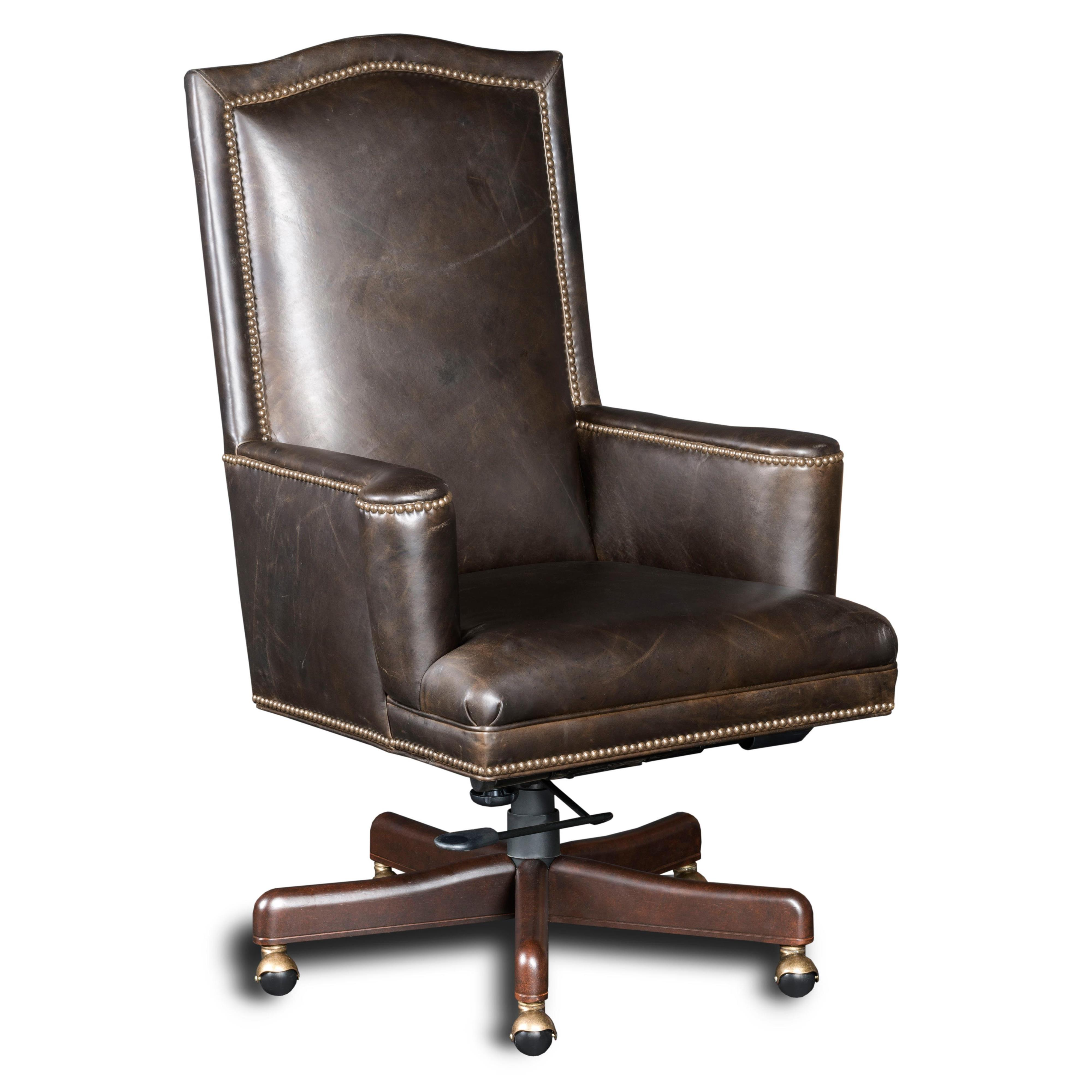 Executive Seating Cindy Executive Swivel Tilt Chair by Hooker Furniture at Fisher Home Furnishings