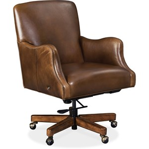 Transitional Heated Executive Chair