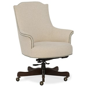 Daisy Home Office Chair with Nailhead Trim