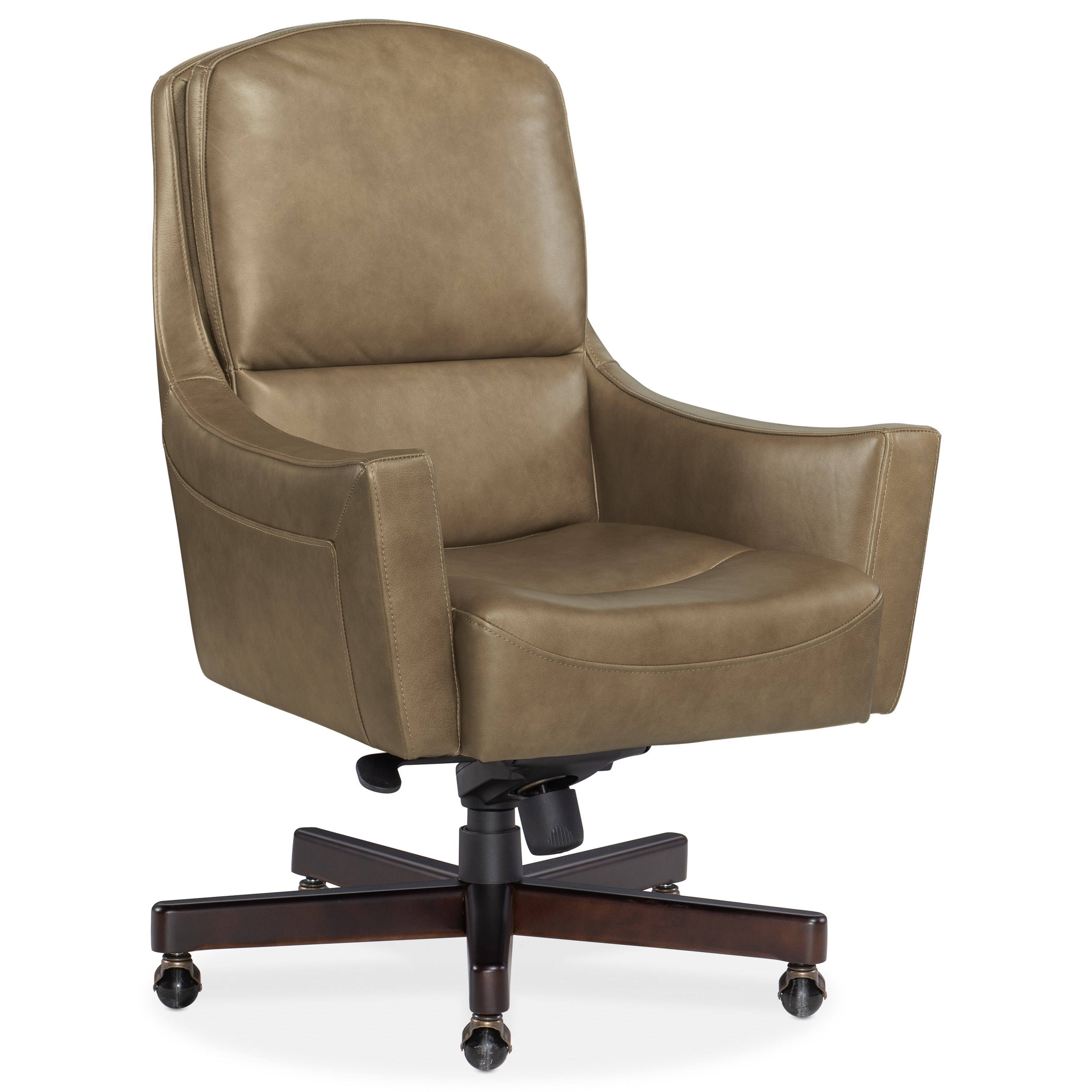 Executive Seating Wasila Executive Swivel Tilt Chair by Hooker Furniture at Baer's Furniture