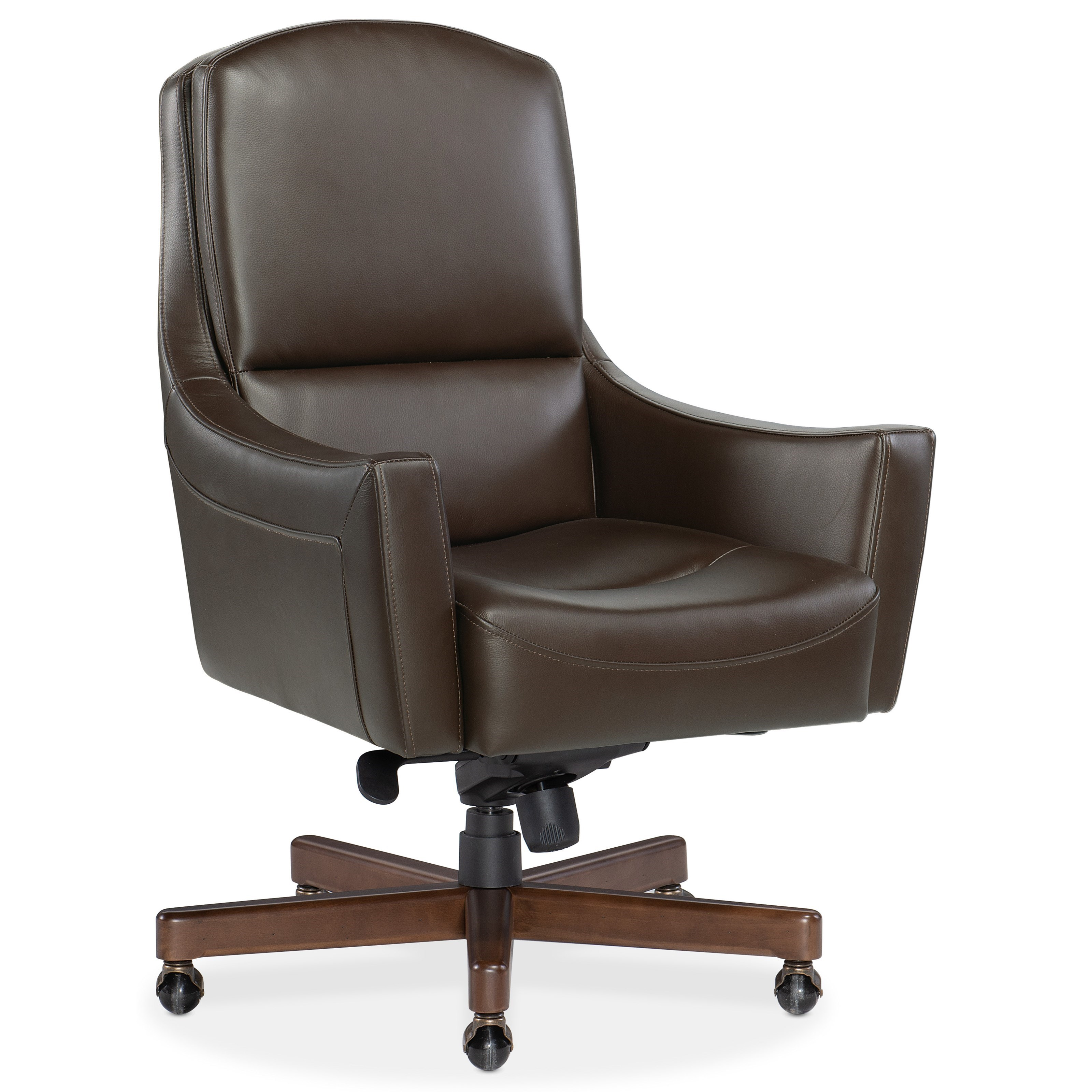Executive Seating Wasila Executive Swivel Tilt Chair by Hooker Furniture at Miller Waldrop Furniture and Decor