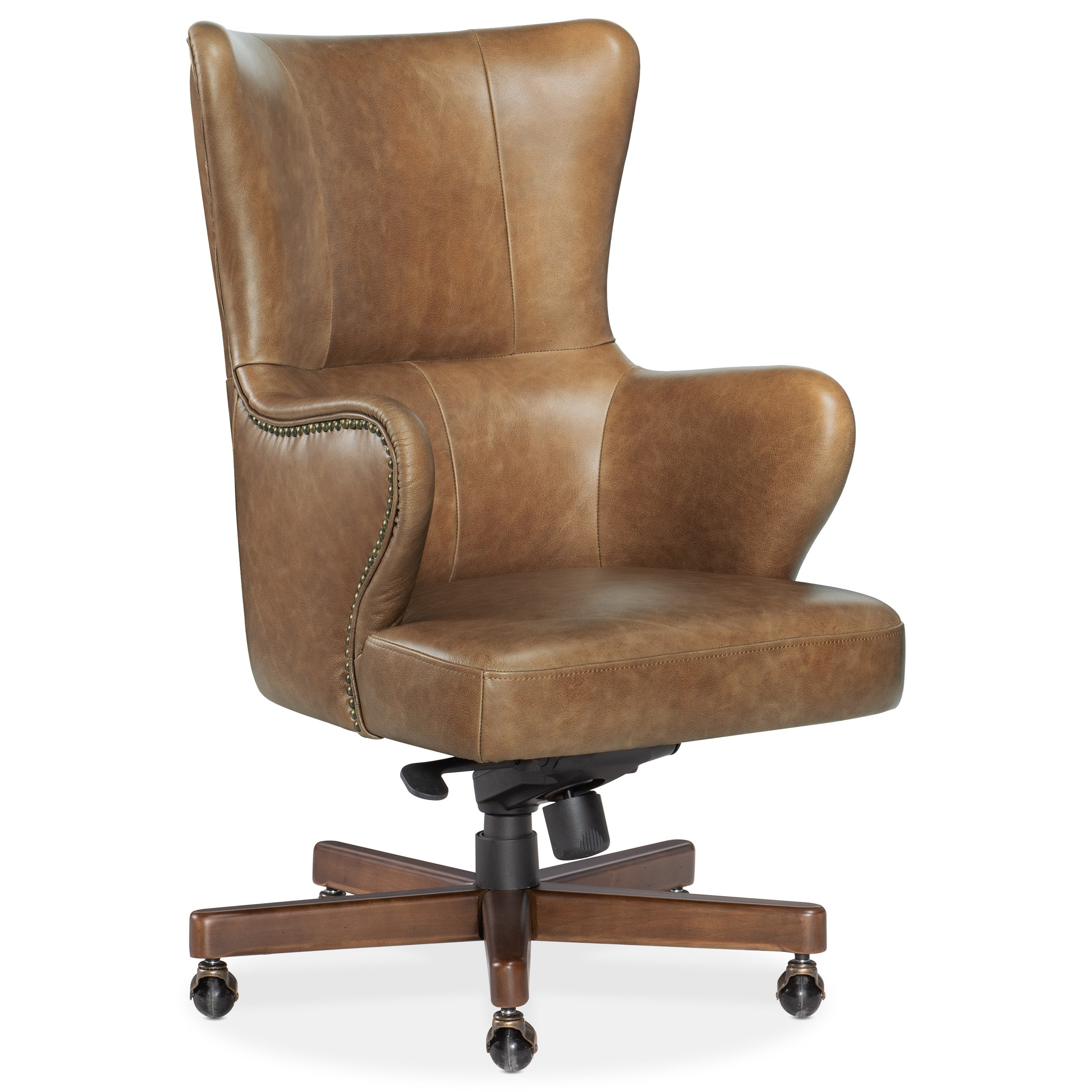 Executive Seating Amelia Executive Swivel Tilt Chair by Hooker Furniture at Mueller Furniture