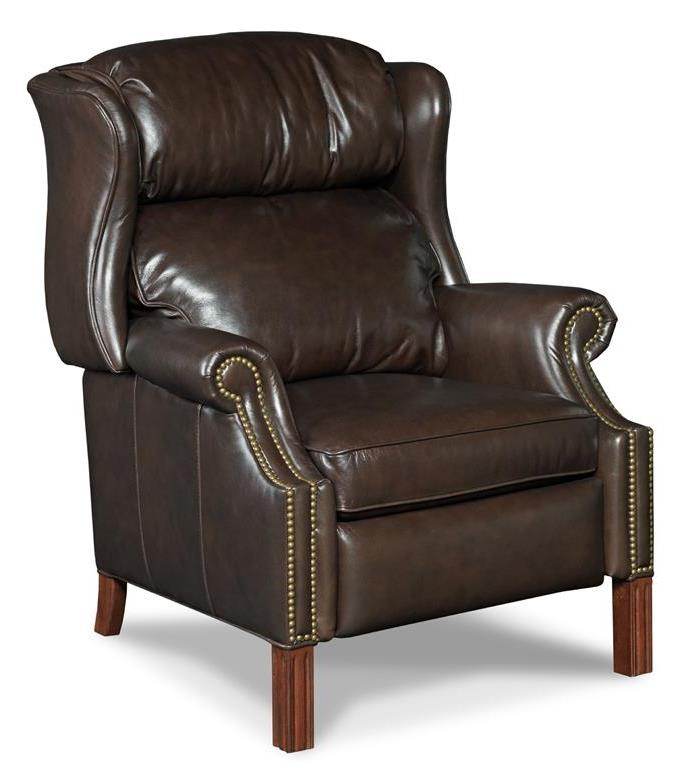 Reclining Chairs High Leg Recliner by Hooker Furniture at Miller Waldrop Furniture and Decor