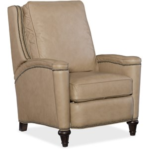 Rylea Transitional Recliner with Nailhead Trim
