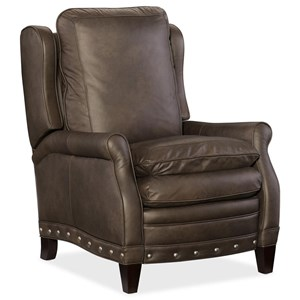 Henry Transitional Leather Recliner