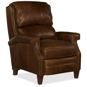 Albert Transitional Leather Recliner