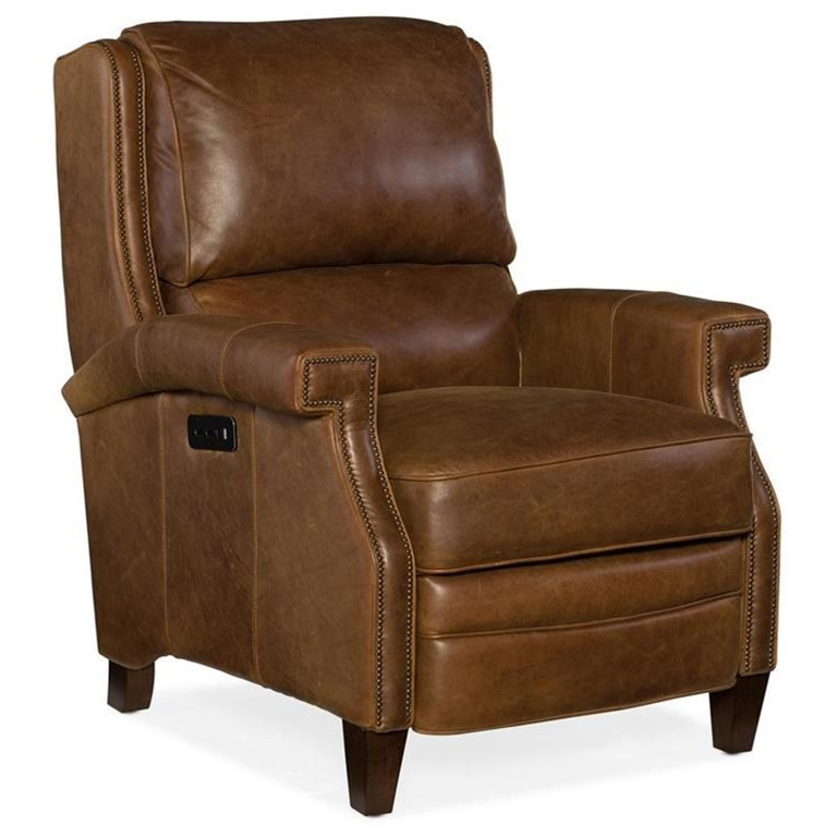 Reclining Chairs Elan Power Recliner with Power Headrest by Hooker Furniture at Baer's Furniture