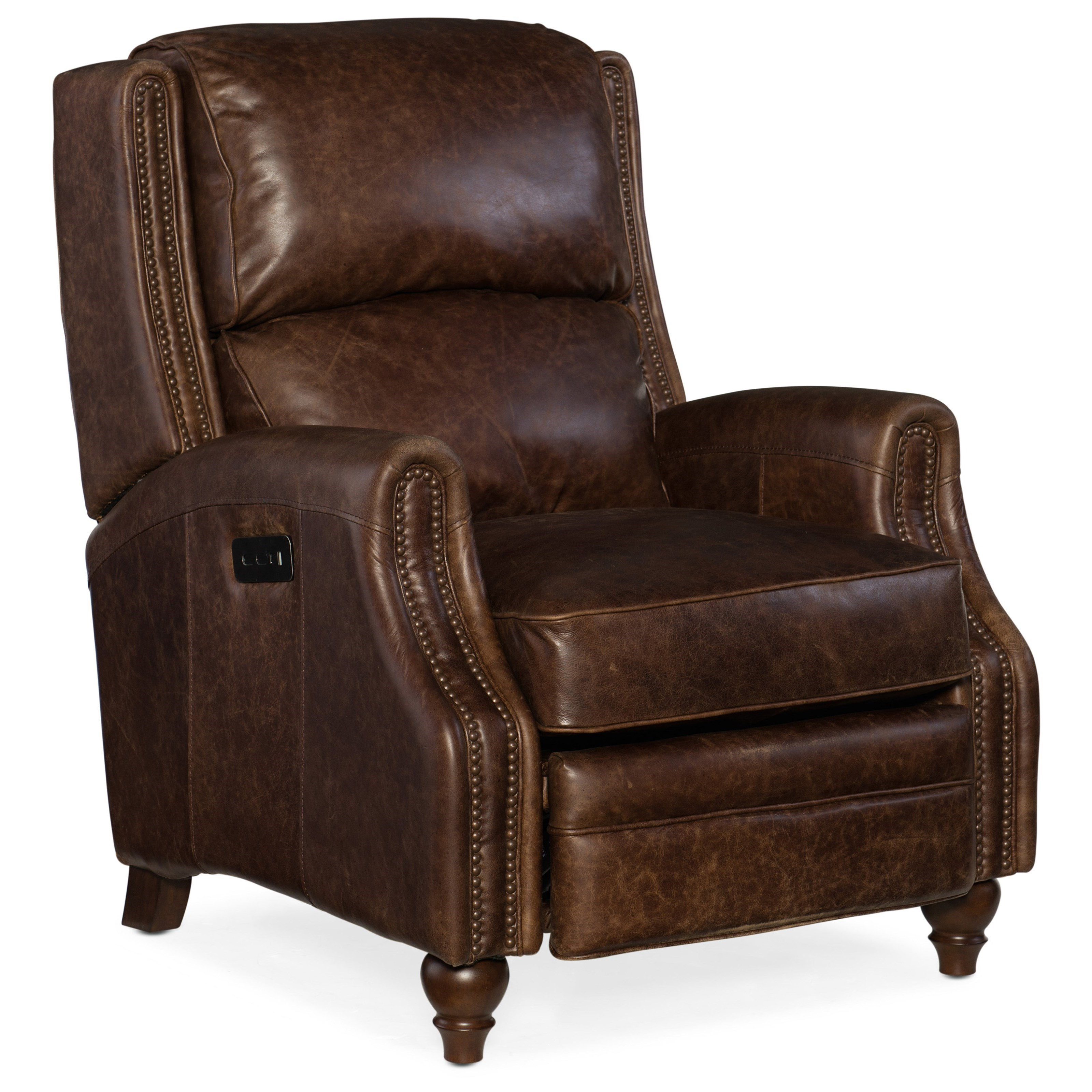 Reclining Chairs Brio Power Recliner with Power Headrest by Hooker Furniture at Baer's Furniture