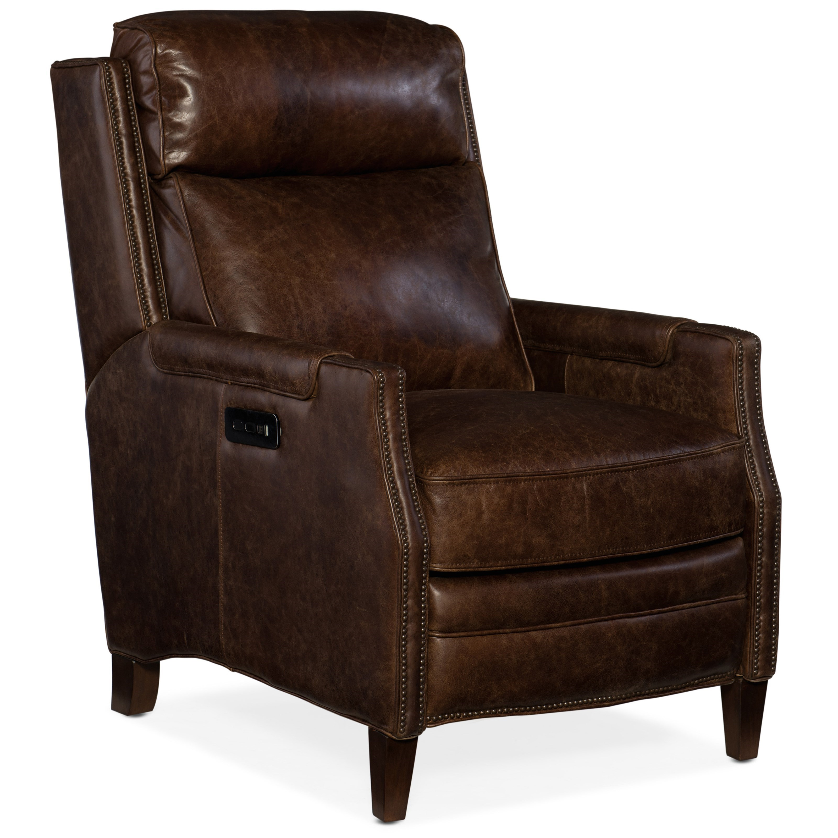 Reclining Chairs Regale Power Recliner with Power Headrest by Hooker Furniture at Baer's Furniture