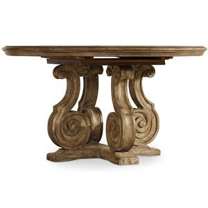 Hooker Furniture Solana Pedestal Dining Table