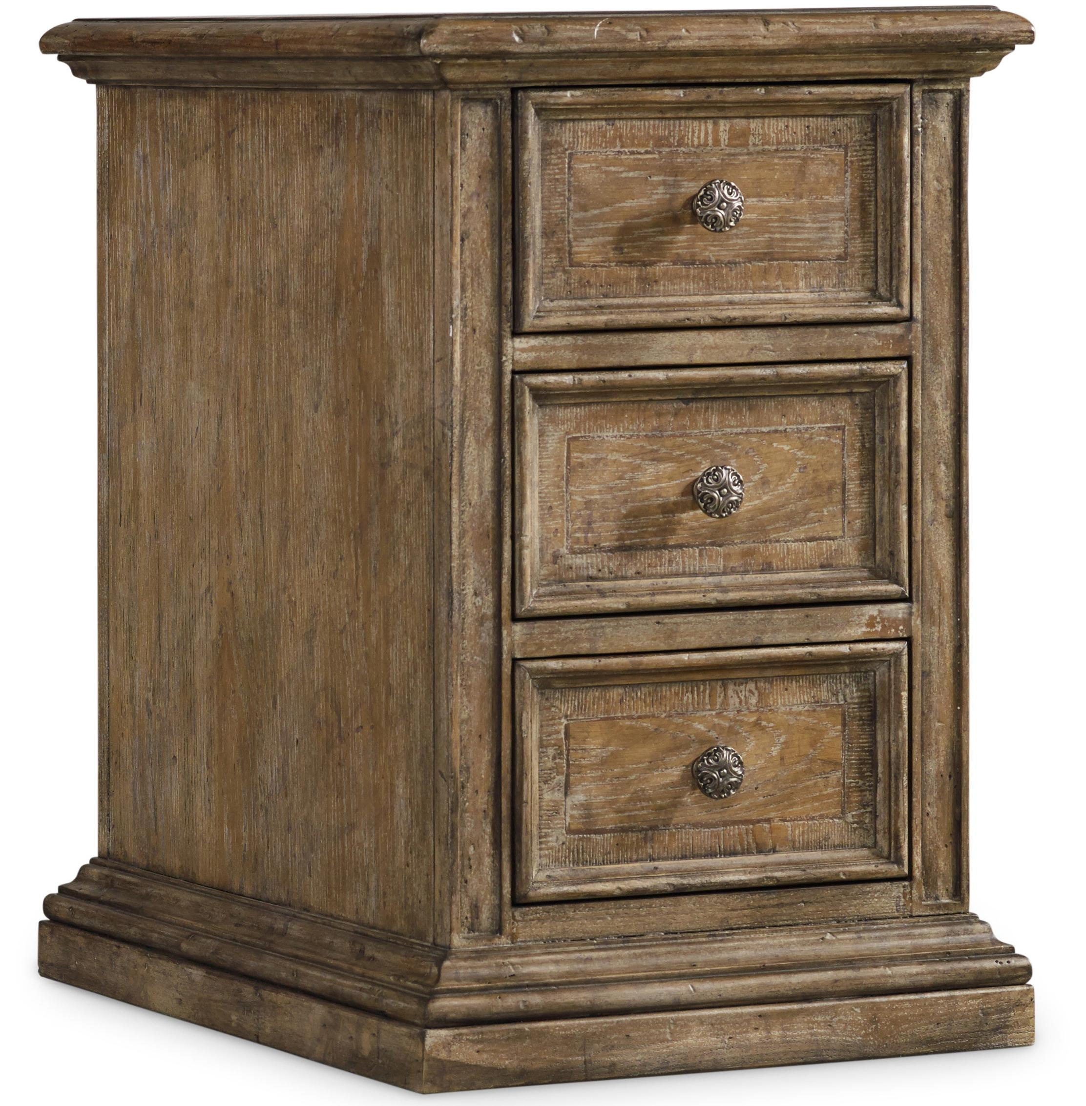 Solana Chairside Chest by Hooker Furniture at Baer's Furniture