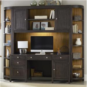 Hooker Furniture South Park Computer Credenza Wall Unit