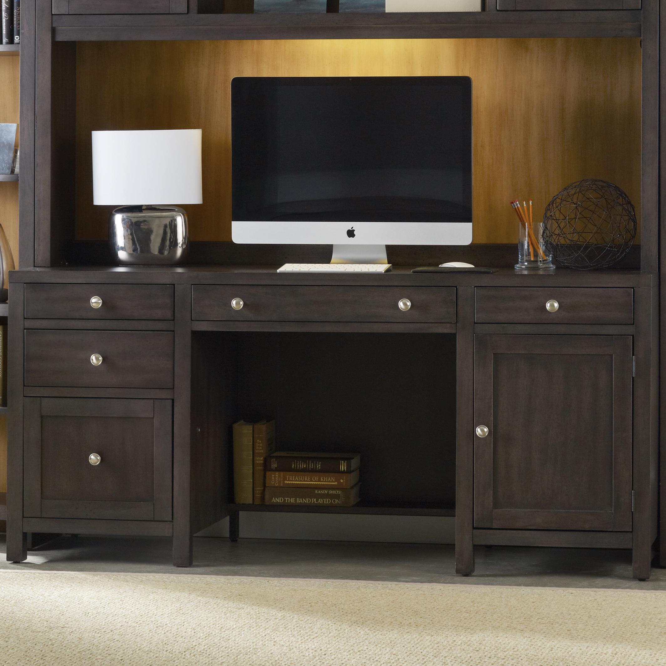 South Park Computer Credenza by Hooker Furniture at Baer's Furniture
