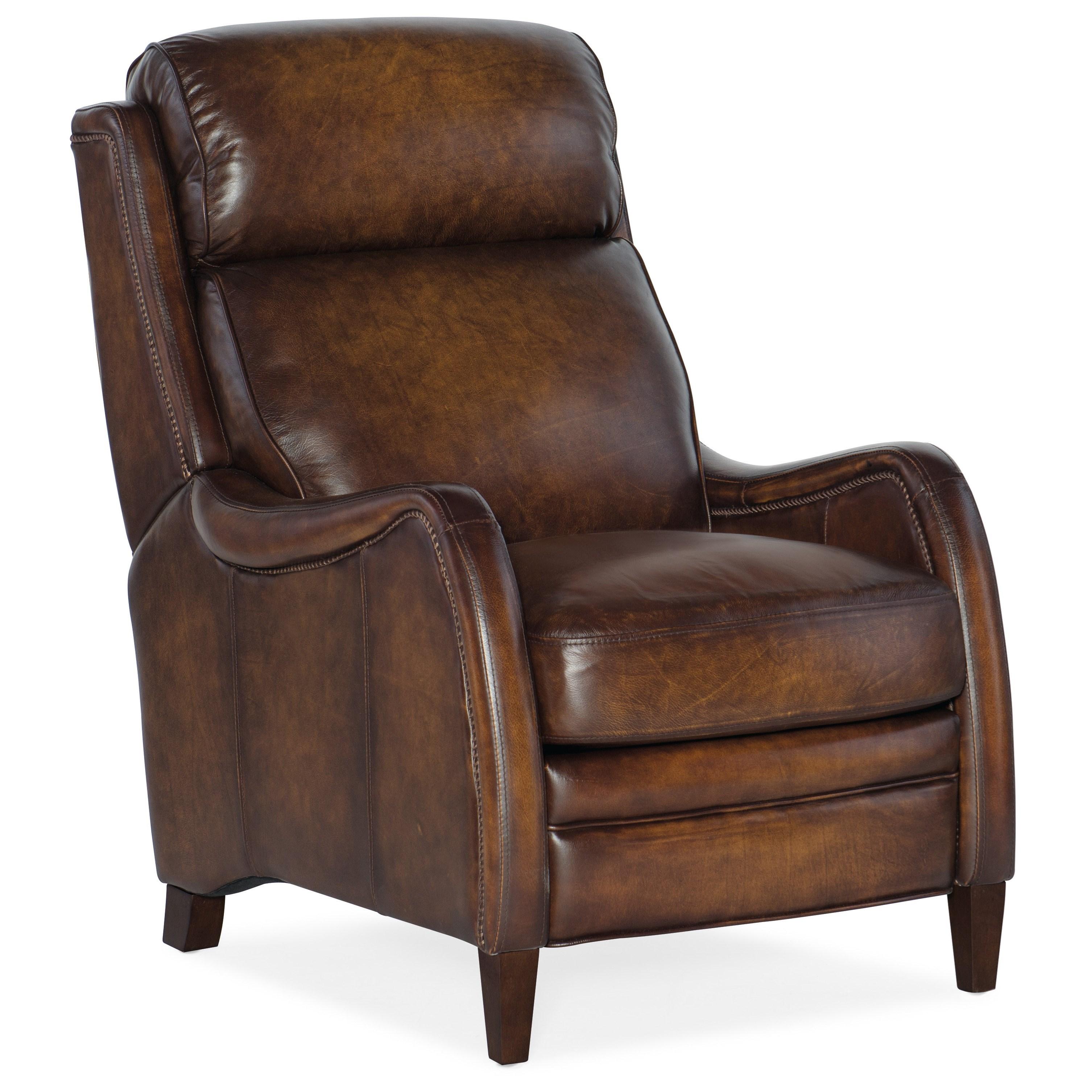 Stark Manual Push Back Recliner by Hooker Furniture at Johnny Janosik