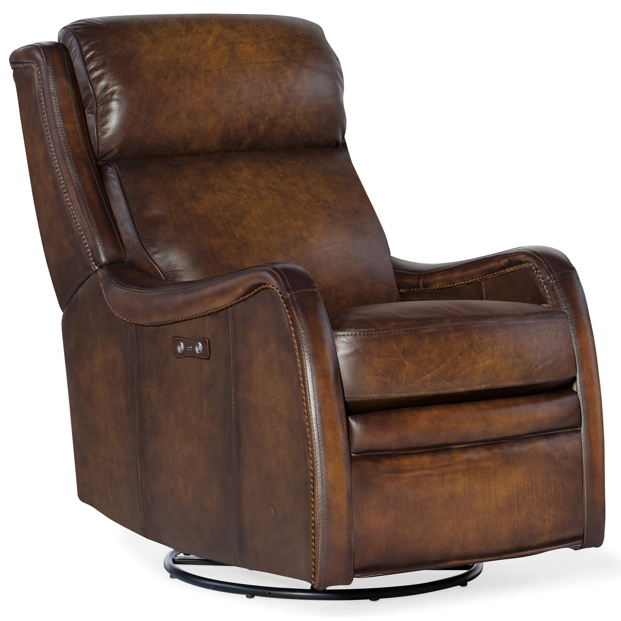 Stark Power Swivel Glider Recliner by Hooker Furniture at Baer's Furniture
