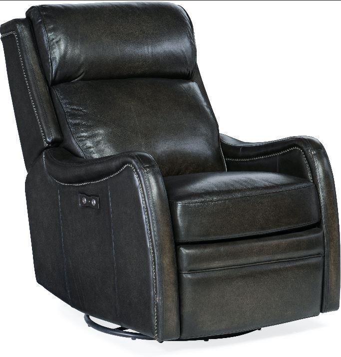 Stark Power Swivel Glider Recliner by Hooker Furniture at Johnny Janosik