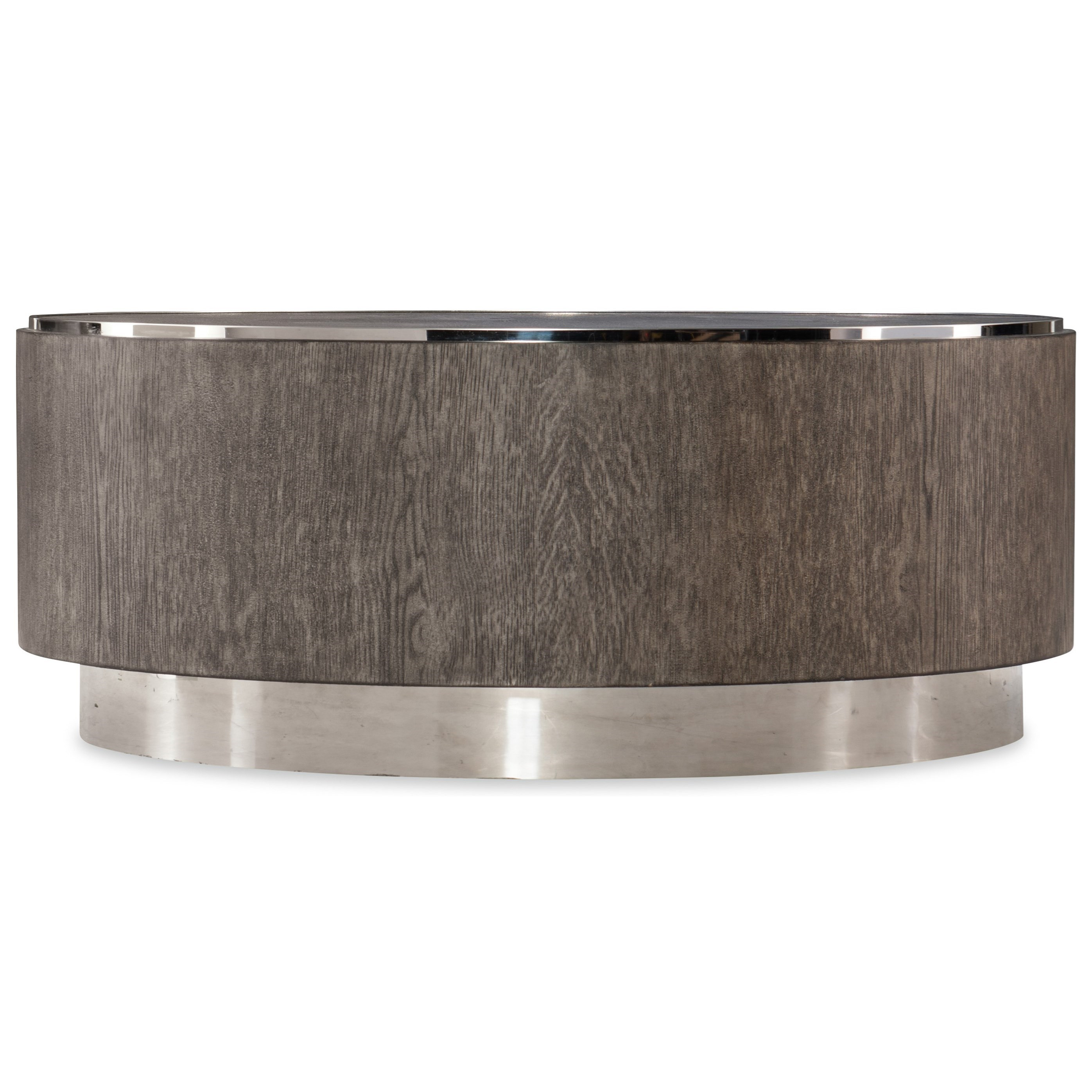 Storia Round Cocktail Table by Hooker Furniture at Baer's Furniture